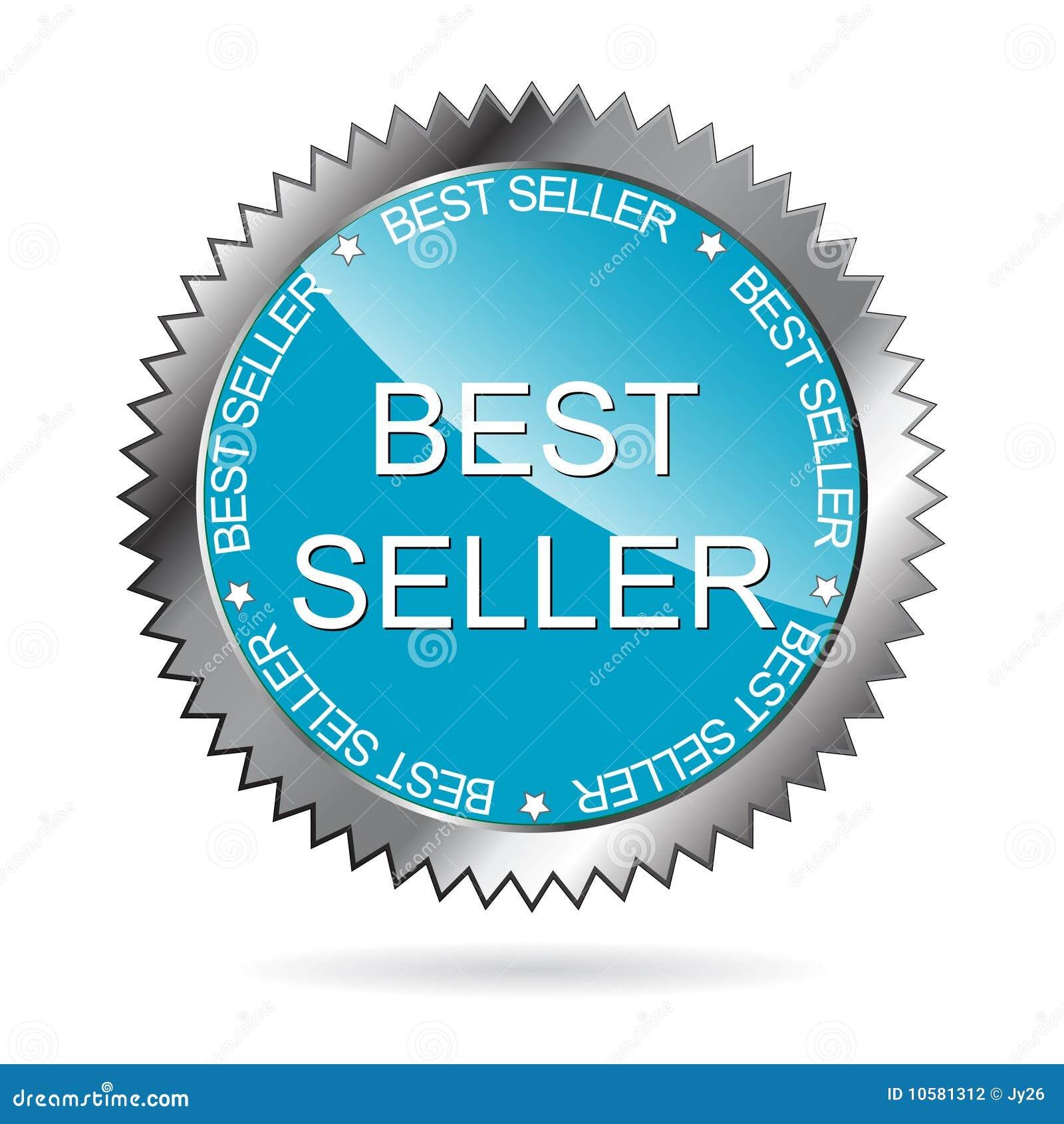 Etiqueta do melhor vendedor (VETOR)