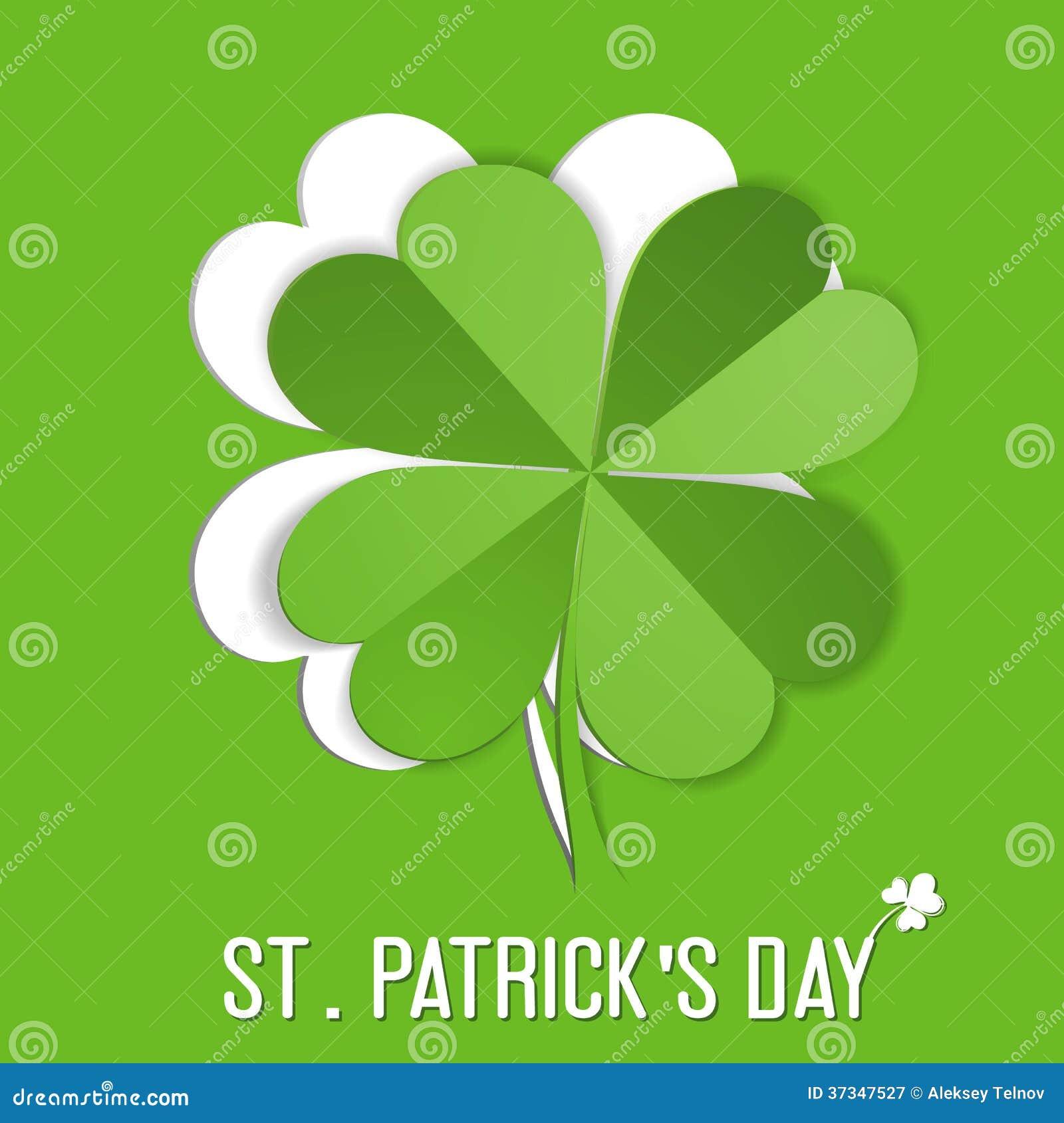 Etiqueta do St. Patrick Day