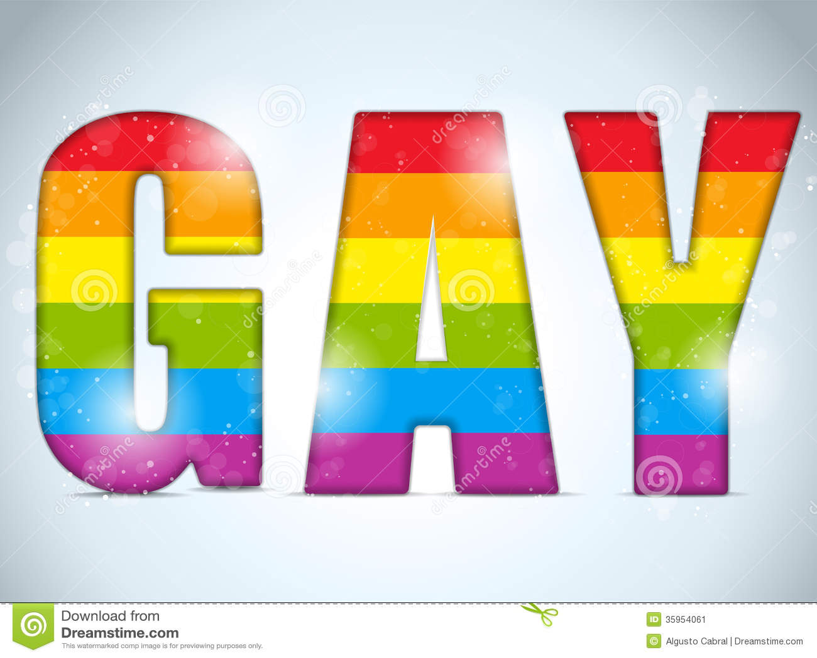 Etiqueta engomada rayada del círculo gay de la bandera
