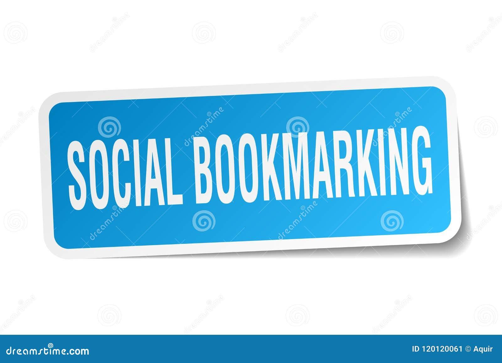 Etiqueta marcando um endereço da Internet social