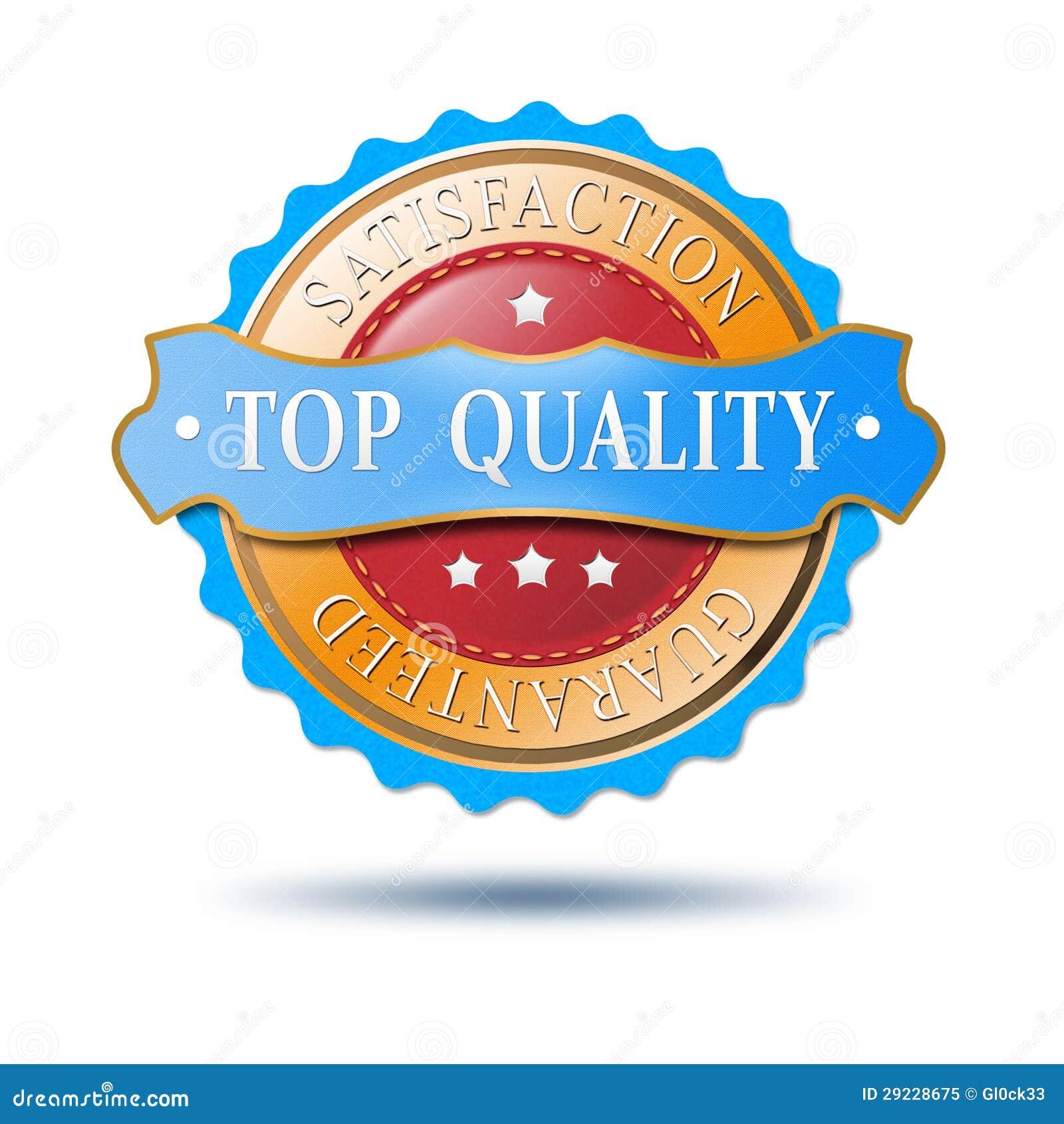 Download Etiqueta Superior Do Produto Ilustração Stock - Ilustração de azul, comprador: 29228675