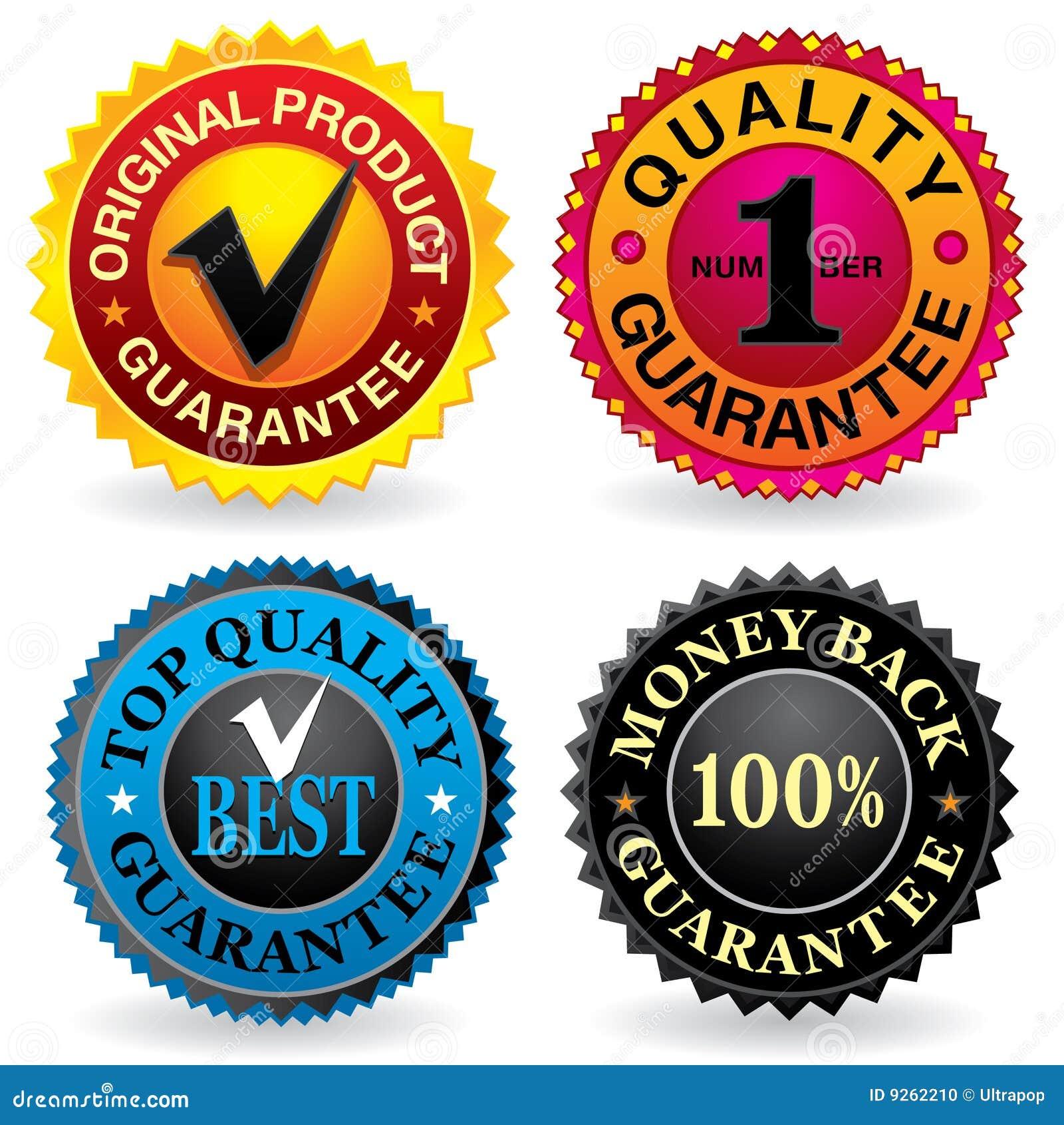 Etiquetas da qualidade