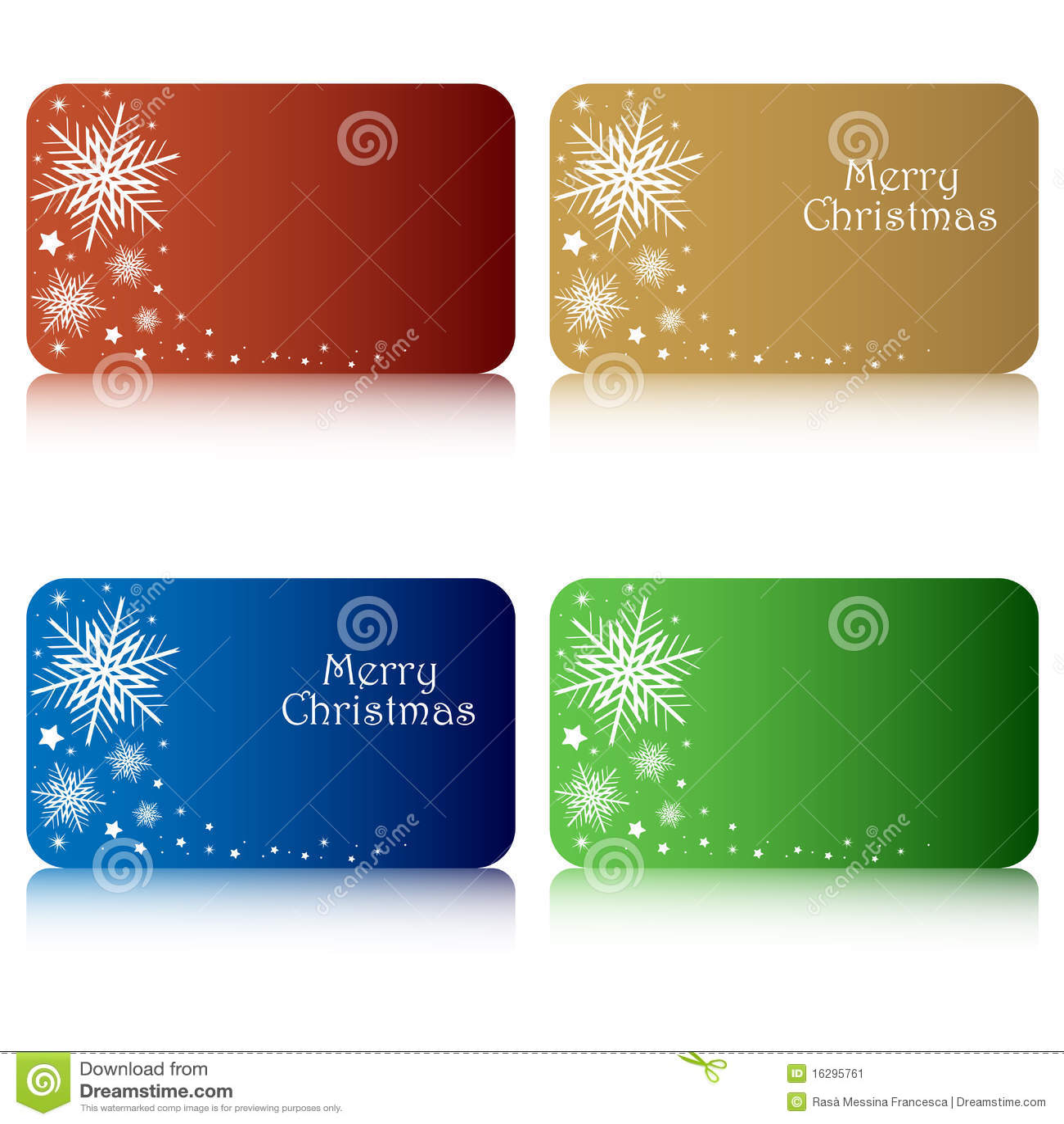 Etiquetas del regalo de la Navidad
