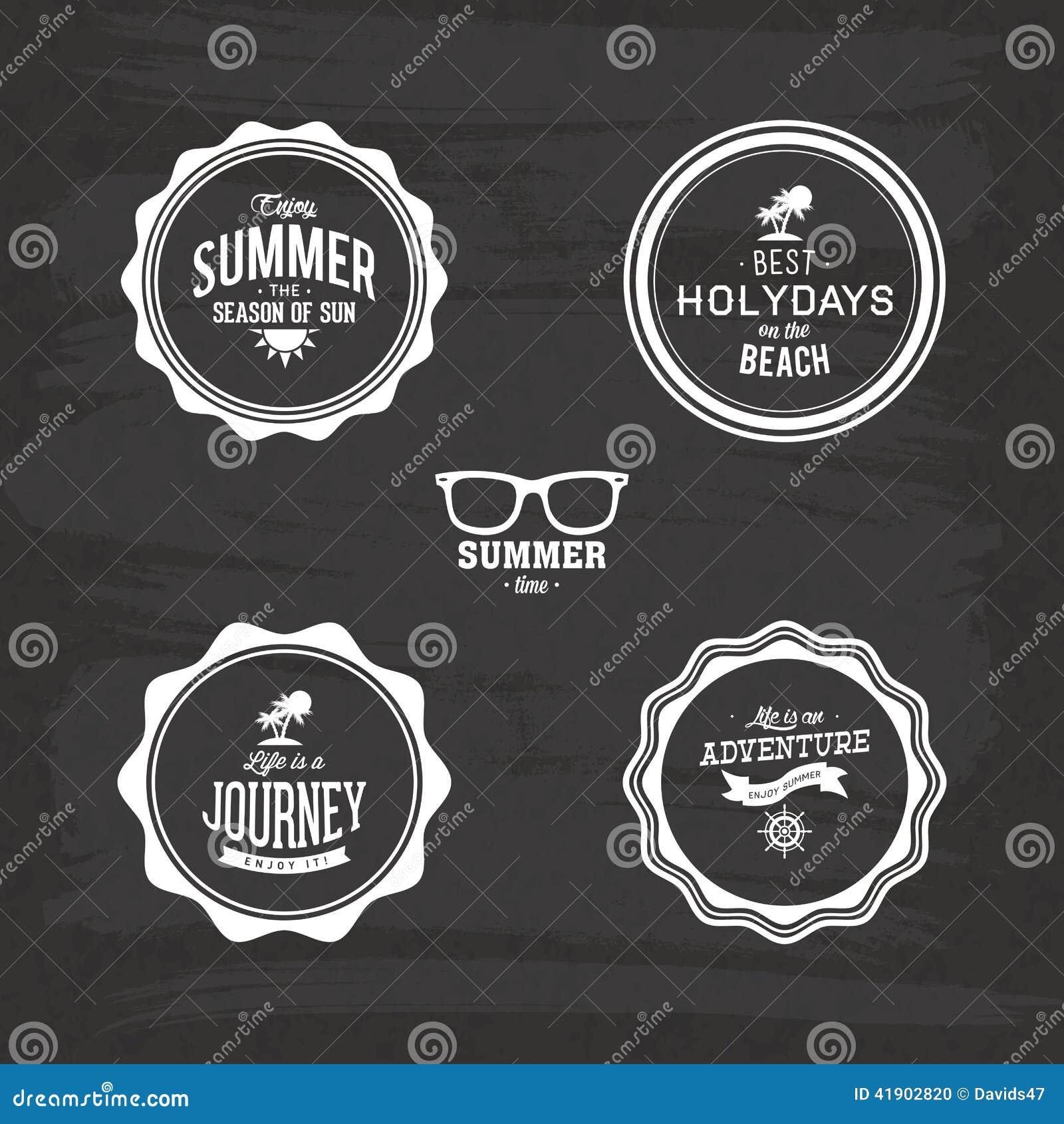 Etiquetas del verano