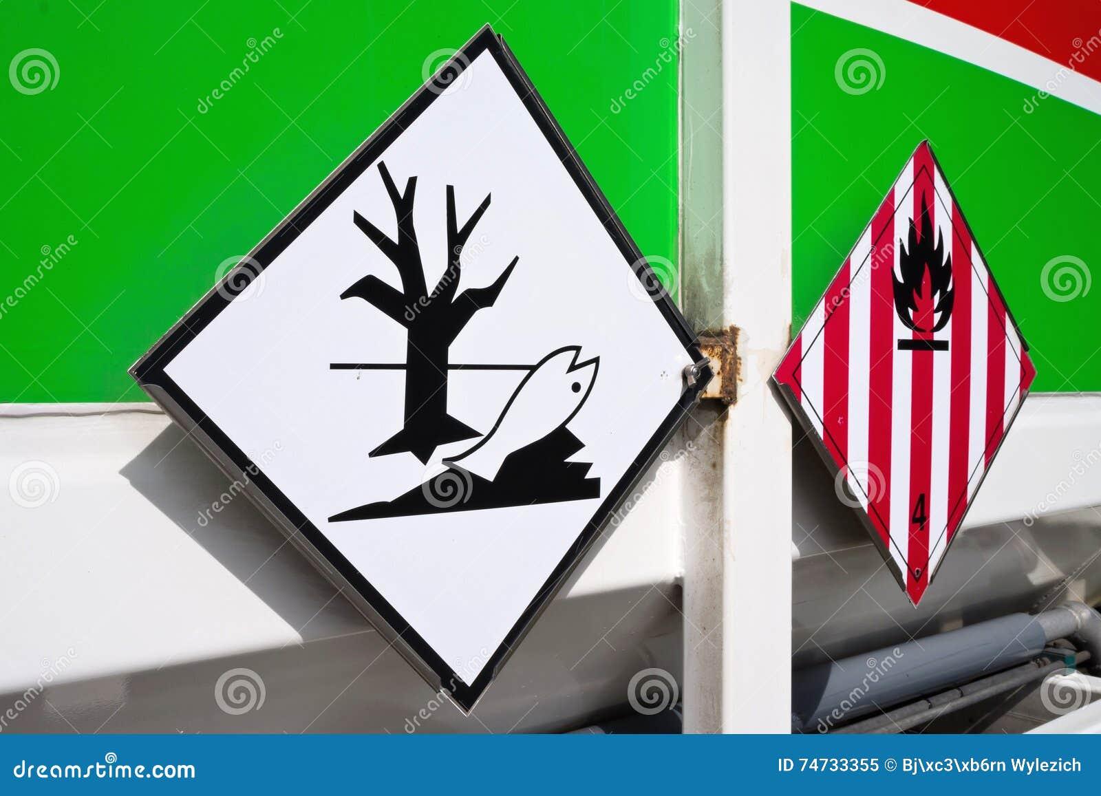 Etiquetas do perigo