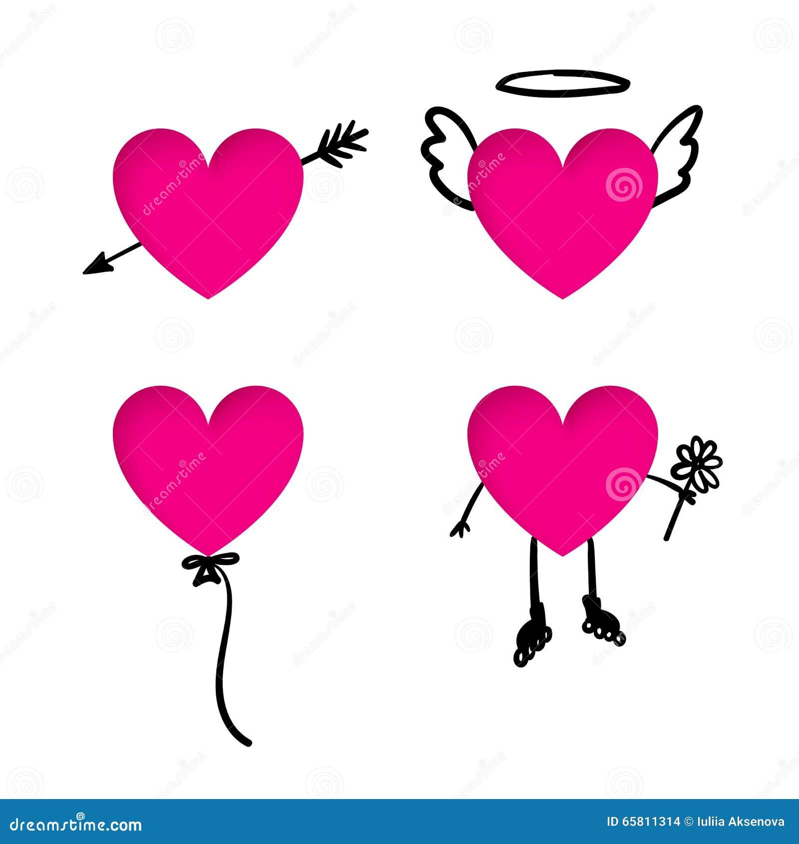 Único Imagen Del Corazón Con Etiquetas Ornamento - Anatomía de Las ...
