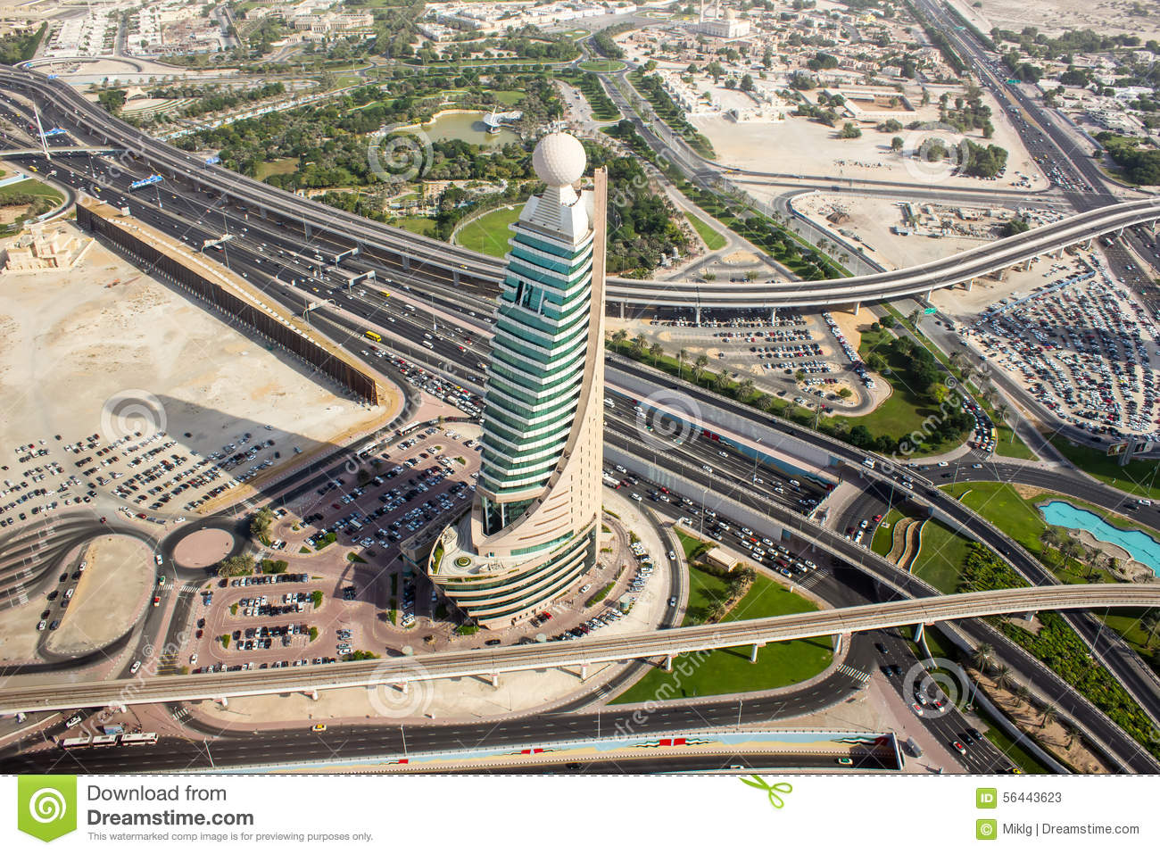 Dubai from a helicopter 2