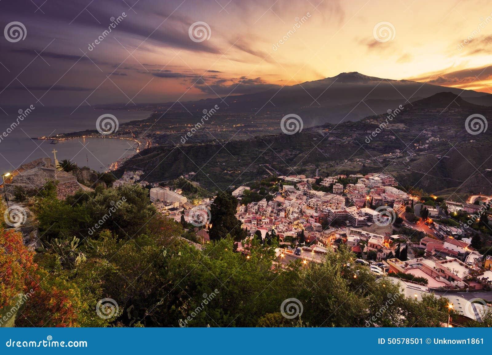 Etna mt Сицилия