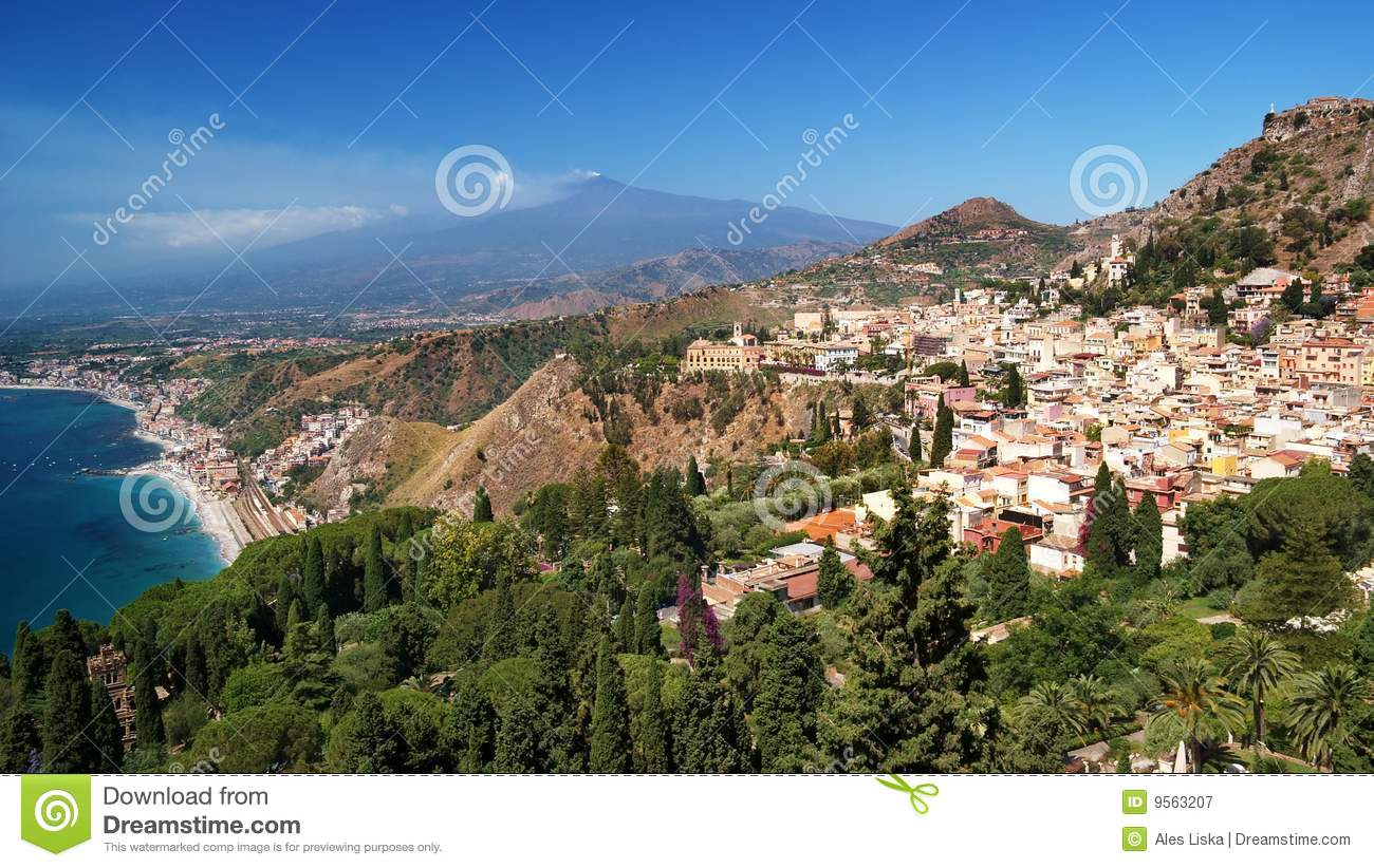 Etna and Taormina