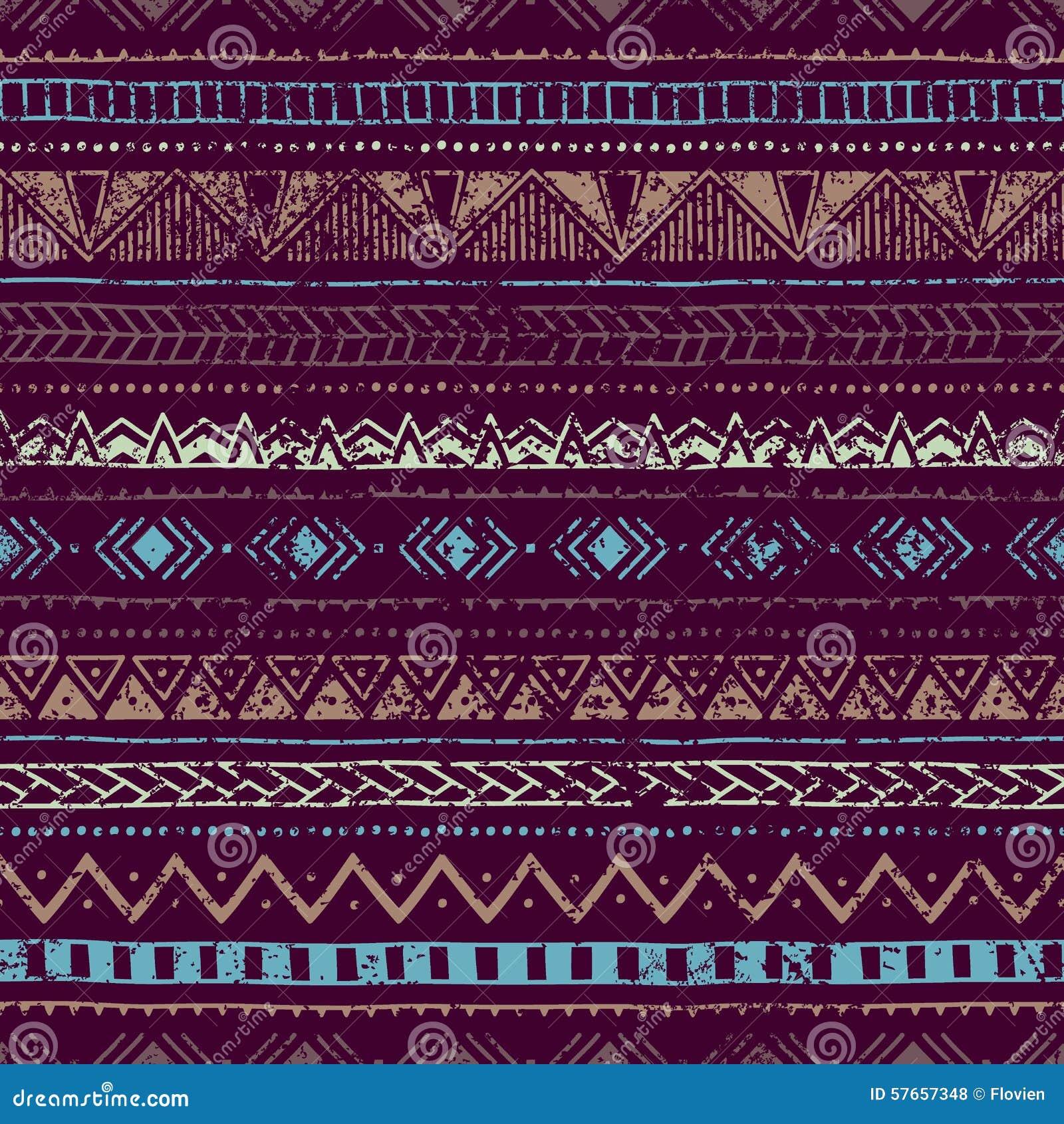 Etniczny rocznika tło Błękita i purpur kolory