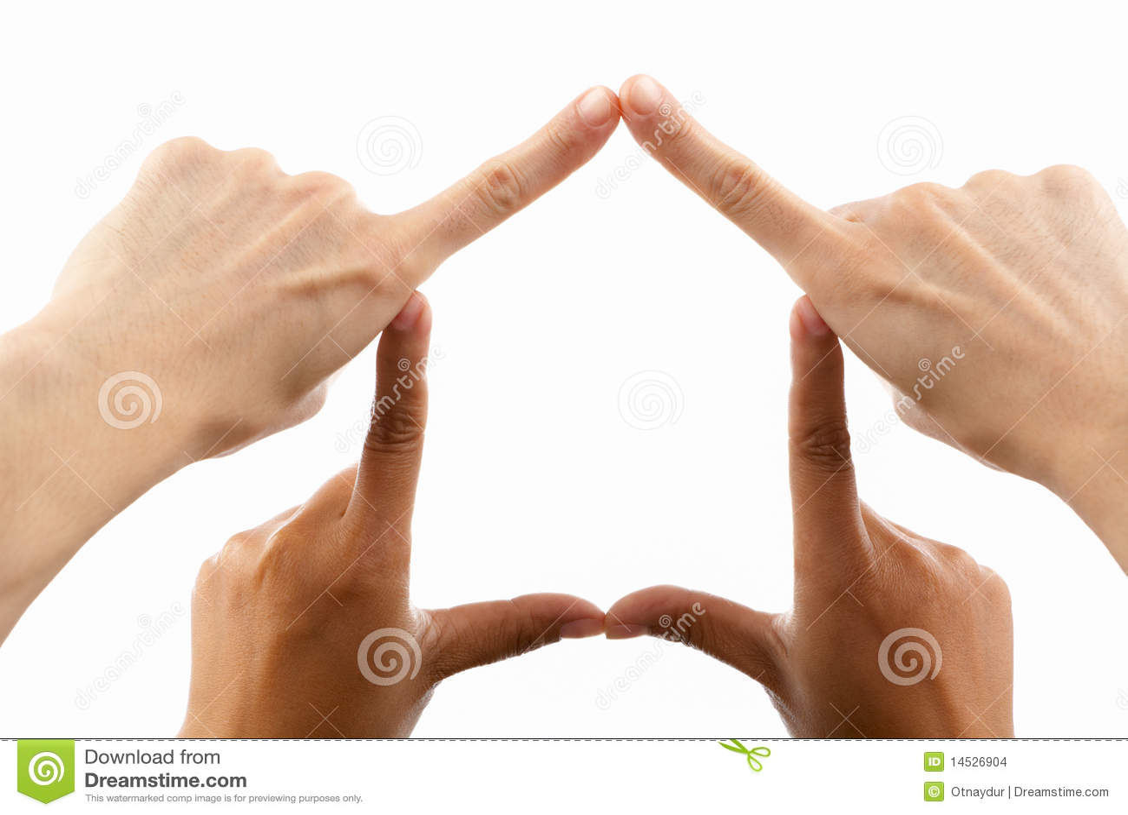 Etniskt bildande mång- symbol för handhus