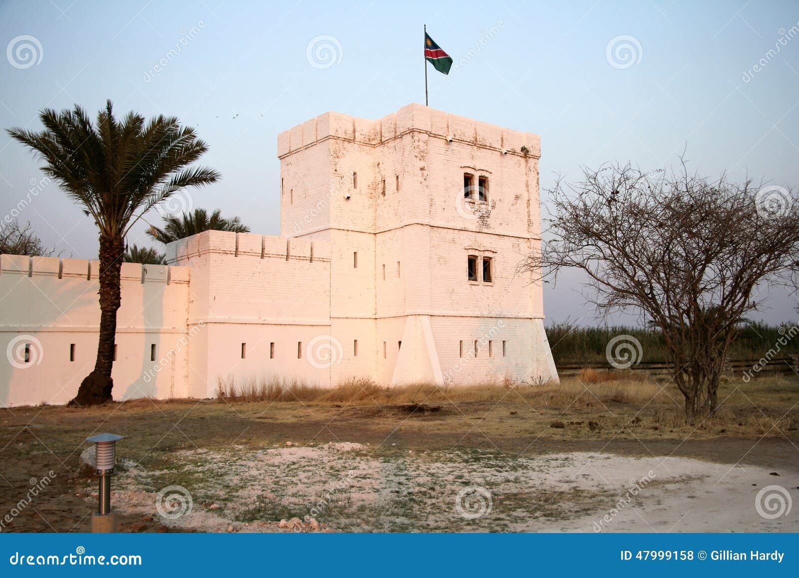 Fort Namutoni, Etosha National Park, Namibia Stock Photo - Image ...