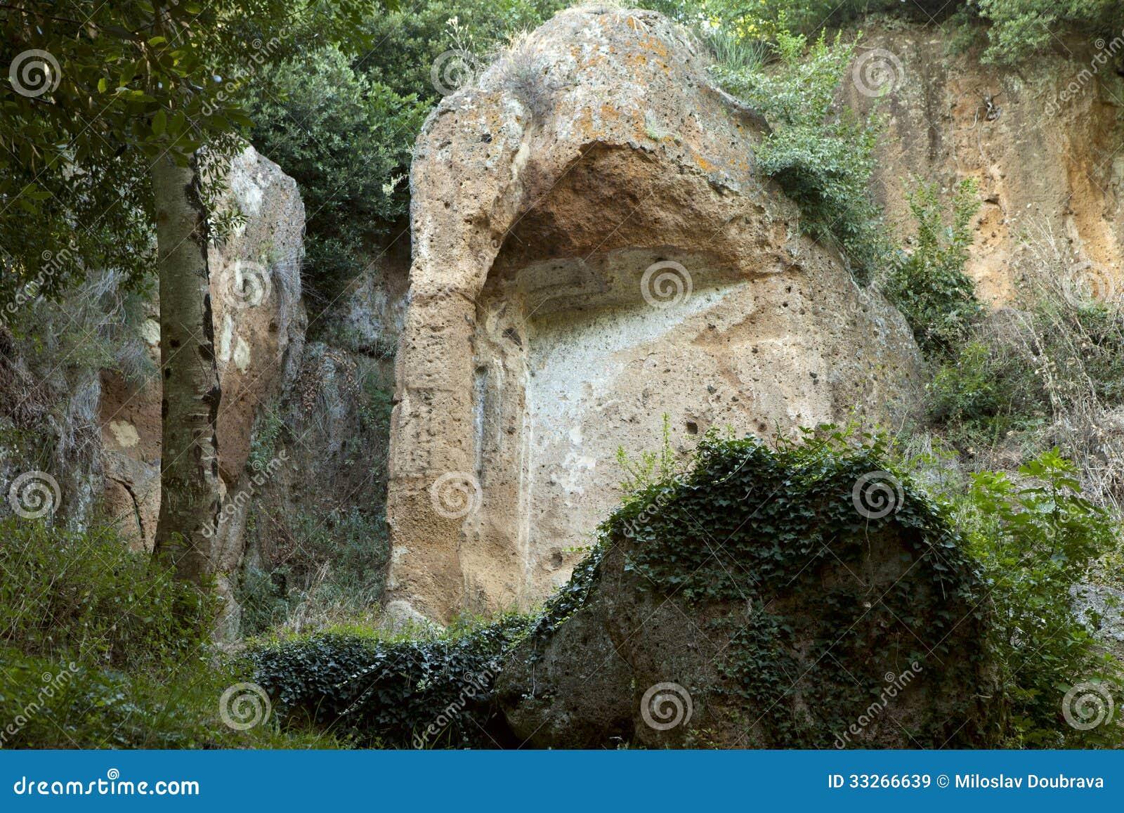 Etruscan graven