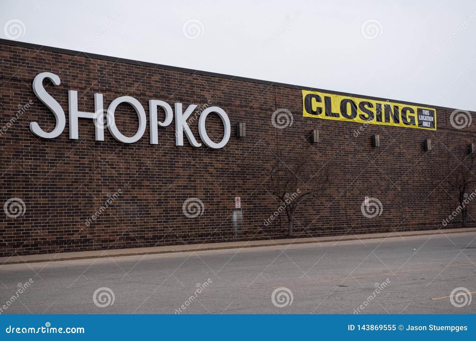 Ett Shopko lager i La Crosse
