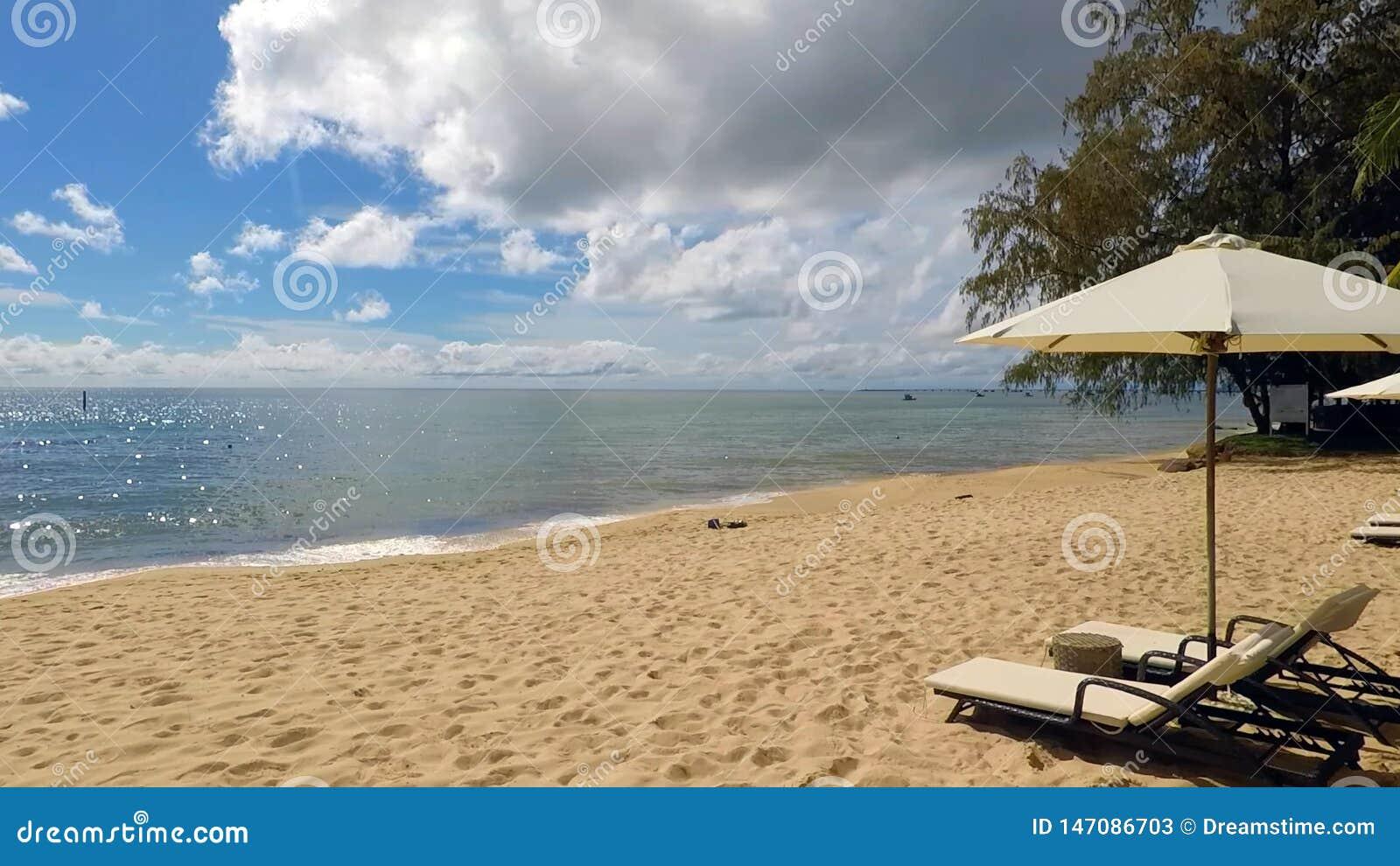 Ett stort st?lle f?r avskildhet p? Stilla havet