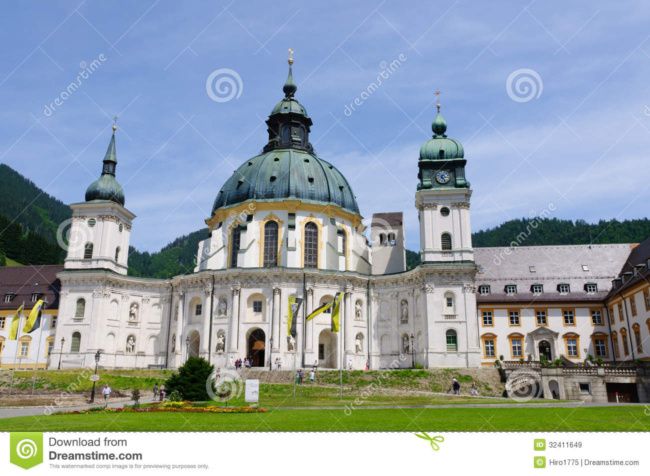 Ettal Germany  City new picture : ... Ettal close to Oberammergau in Bavaria, Germany. The Abbey is one of