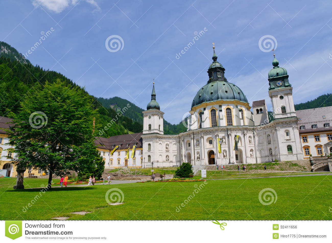 Ettal Germany  city images : Ettal Abbey In Upper Bavaria, Germany Royalty Free Stock Image Image ...