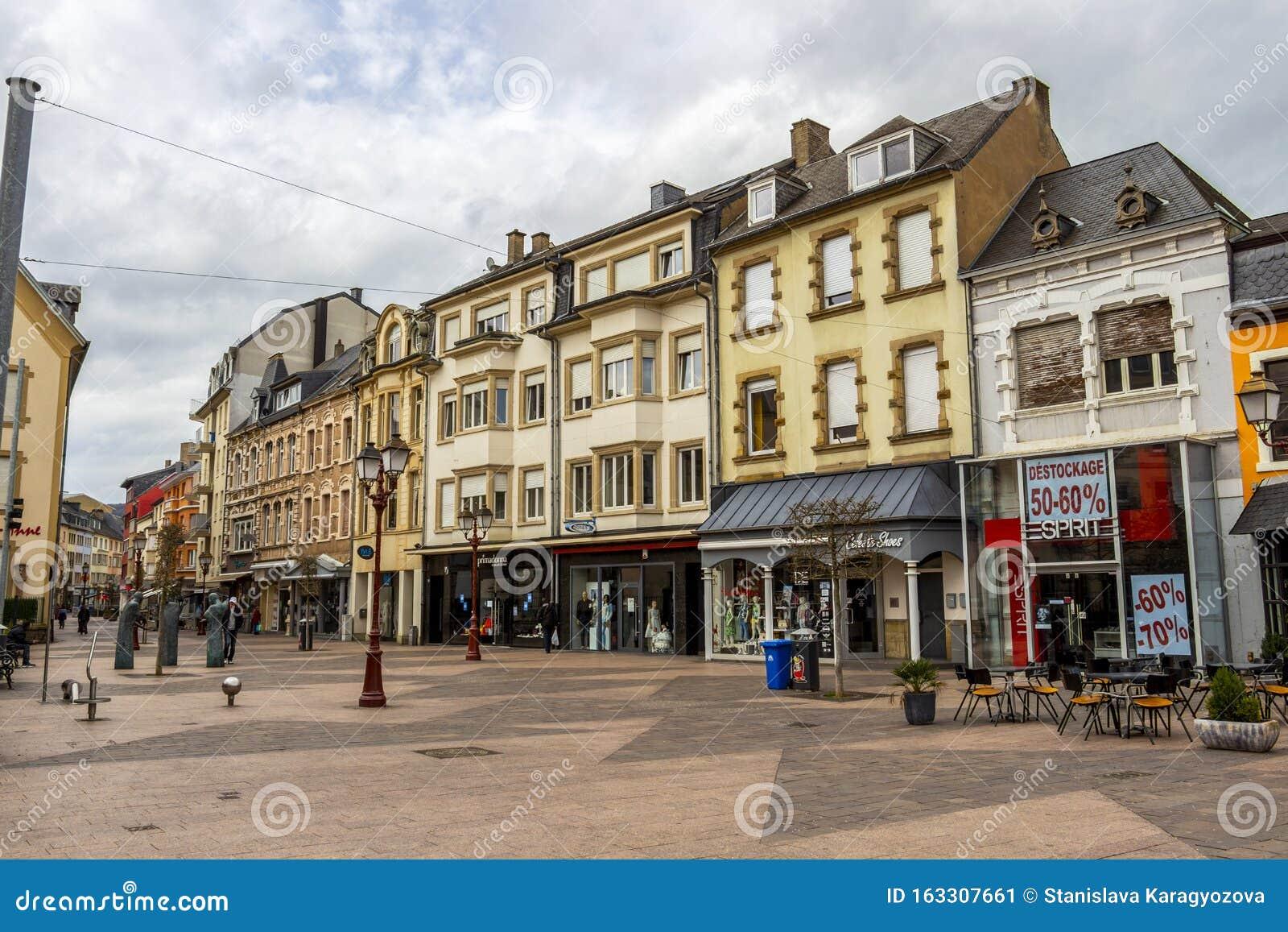 Ettelbruck, Luxembourg Urban Architecture Editorial Photo ...