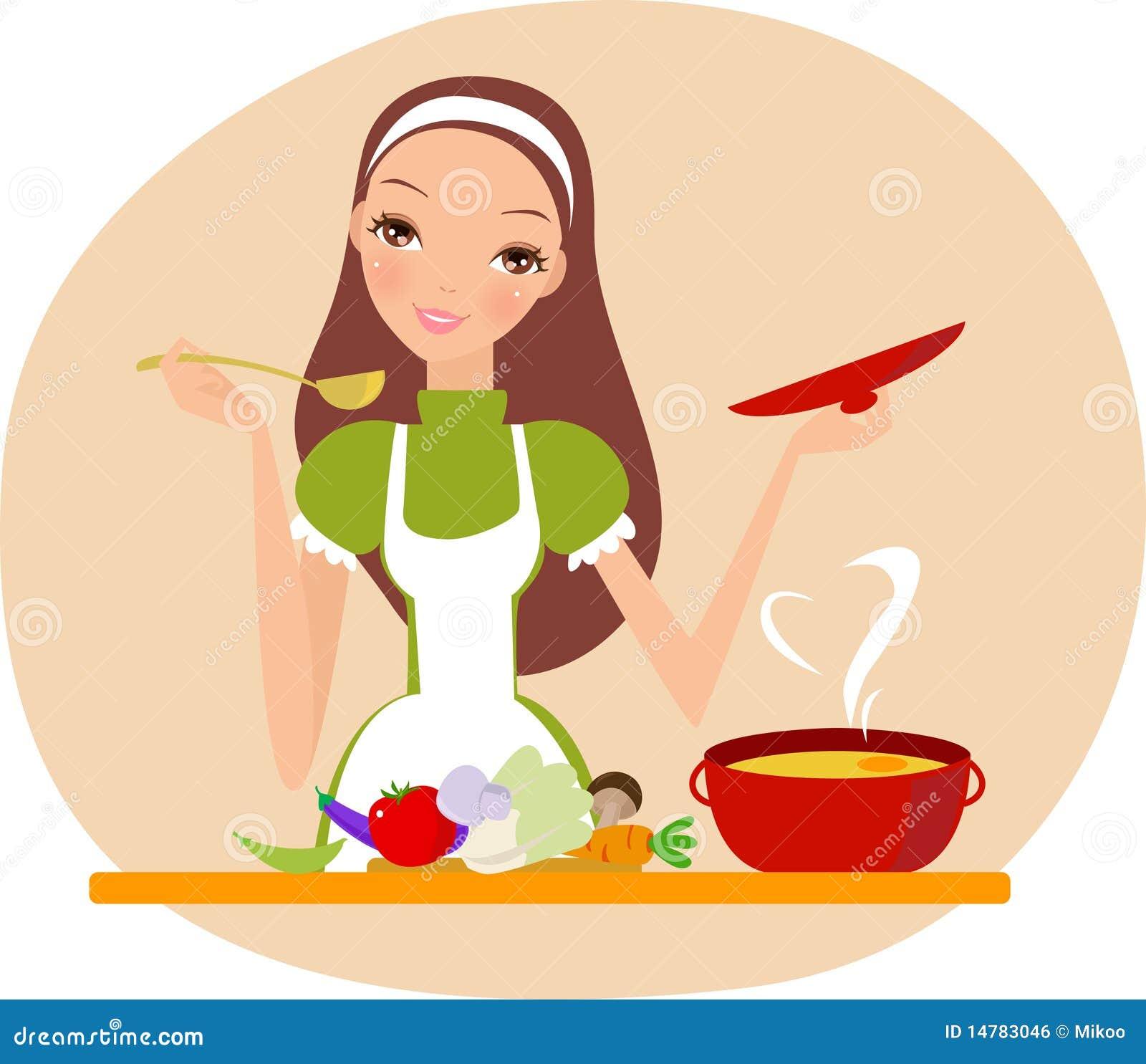 Eu amo cozinhar