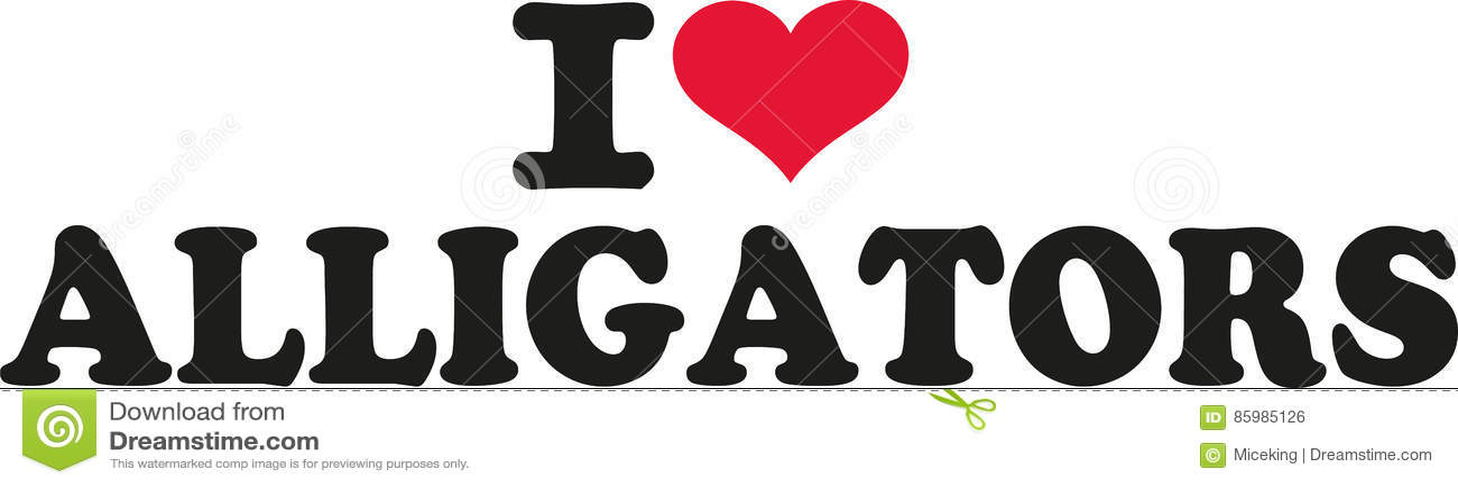 Eu amo jacarés