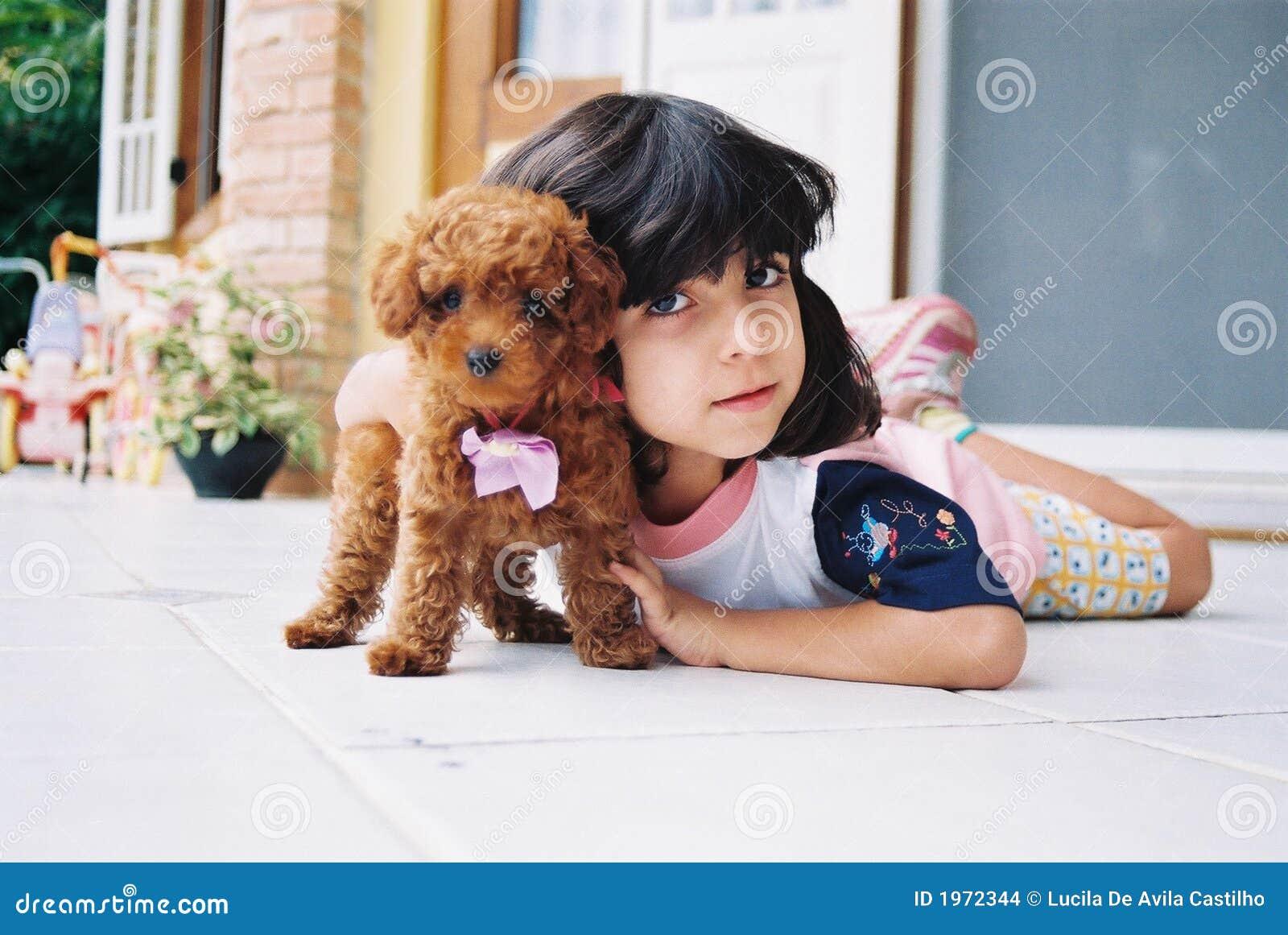Eu amo meu cão pequeno