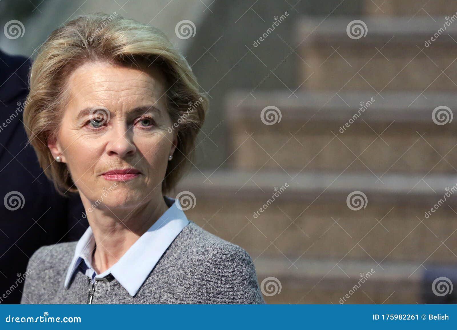 EU Commission President Ursula Von Der Leyen Editorial