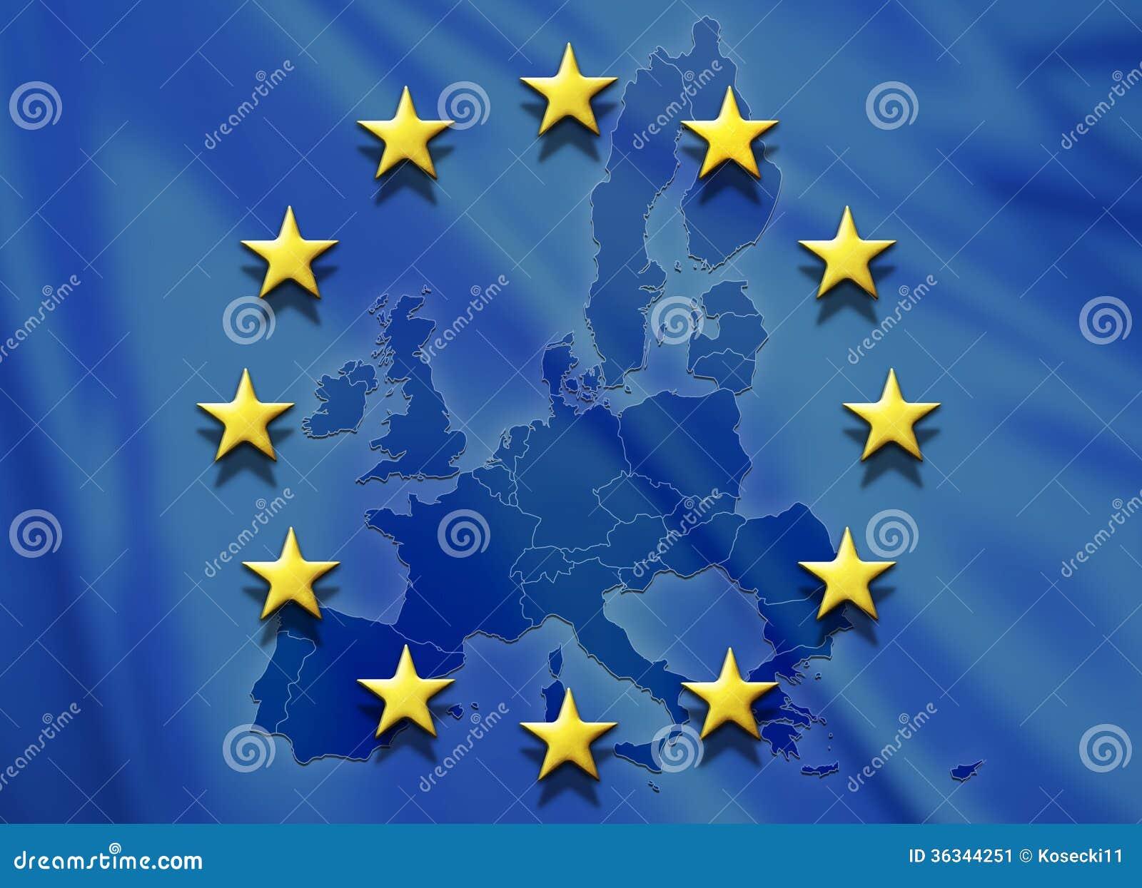 EU Flag Stock Image - Image: 36344251