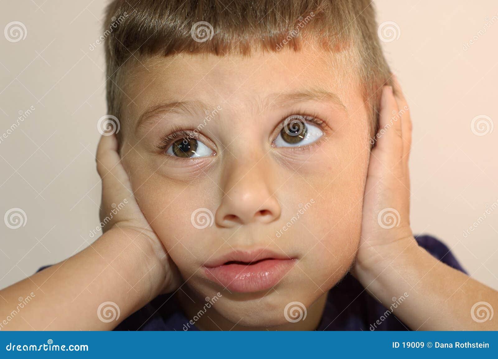 Eu não posso ouvi-lo