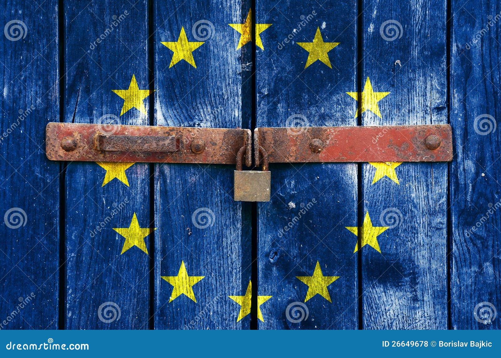 eu padlock stock photo image of padlock banking patriotic 26649678