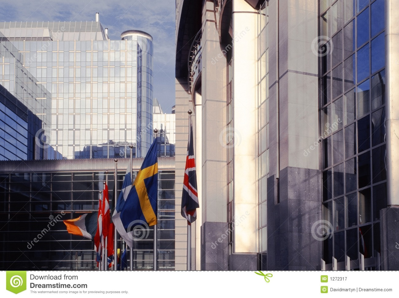 Eu parliament building brussels belgium europe