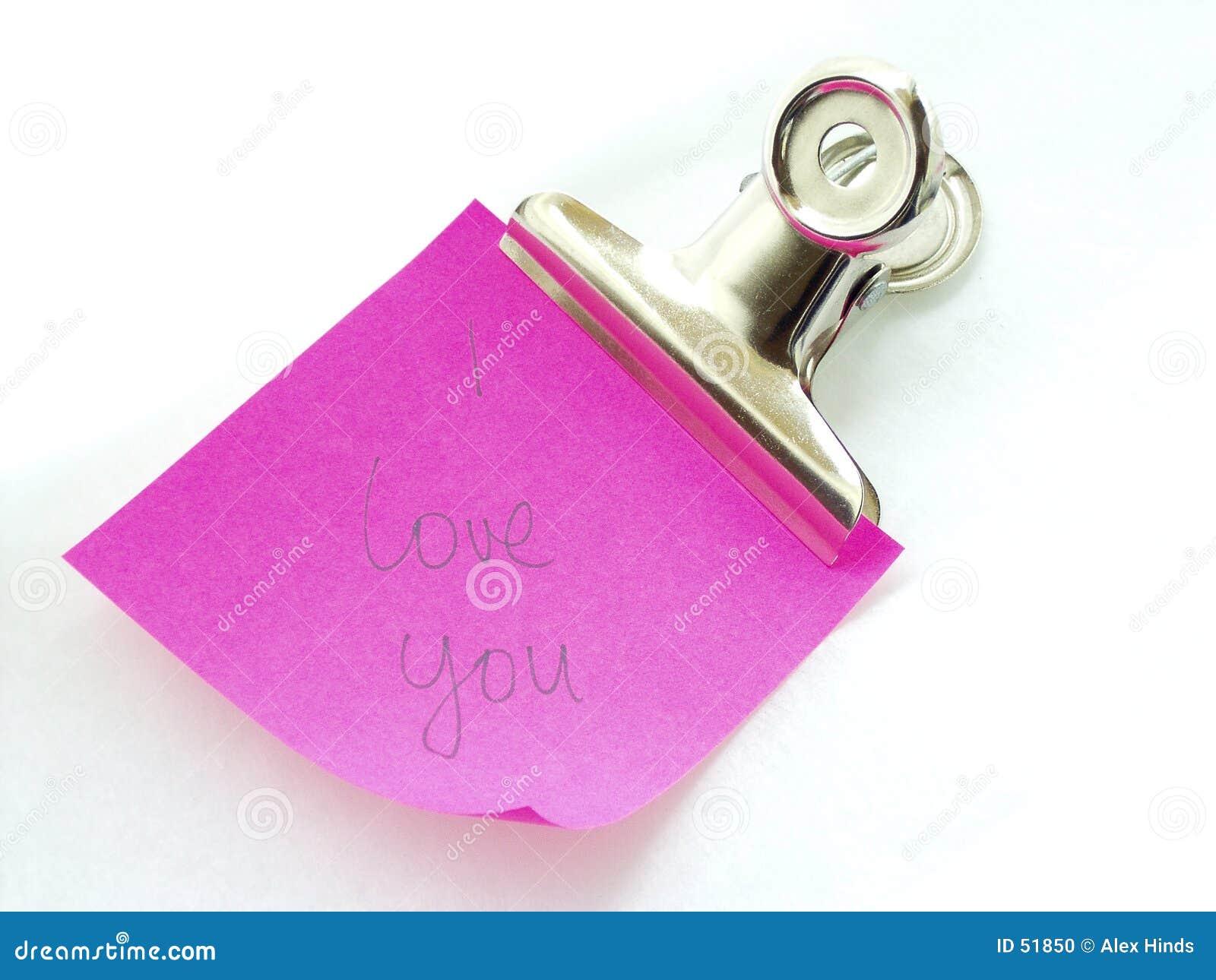 Eu te amo nota