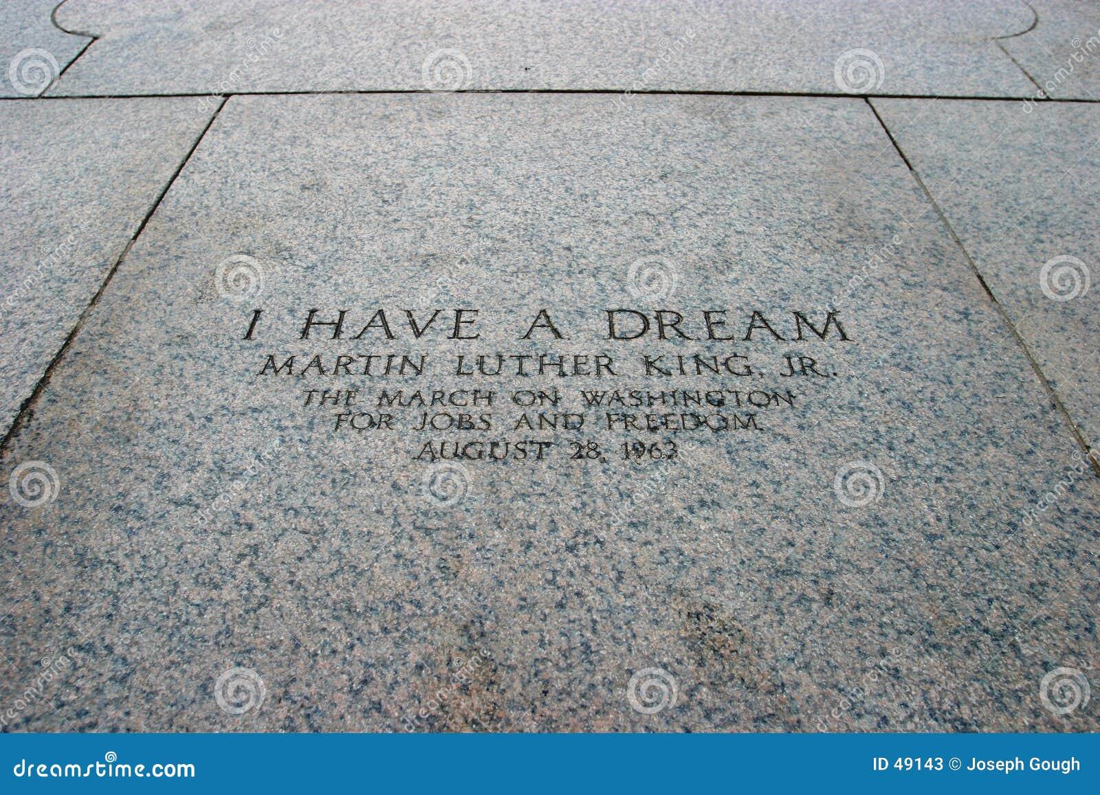 Eu tenho um sonho