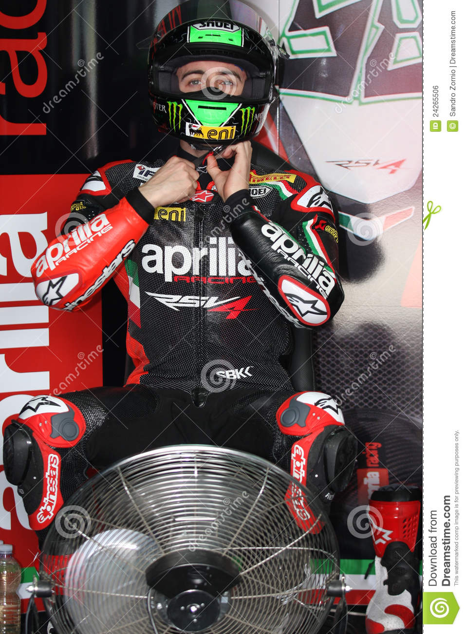 Eugene Laverty Aprilia RSV4 Aprilia Racing Team