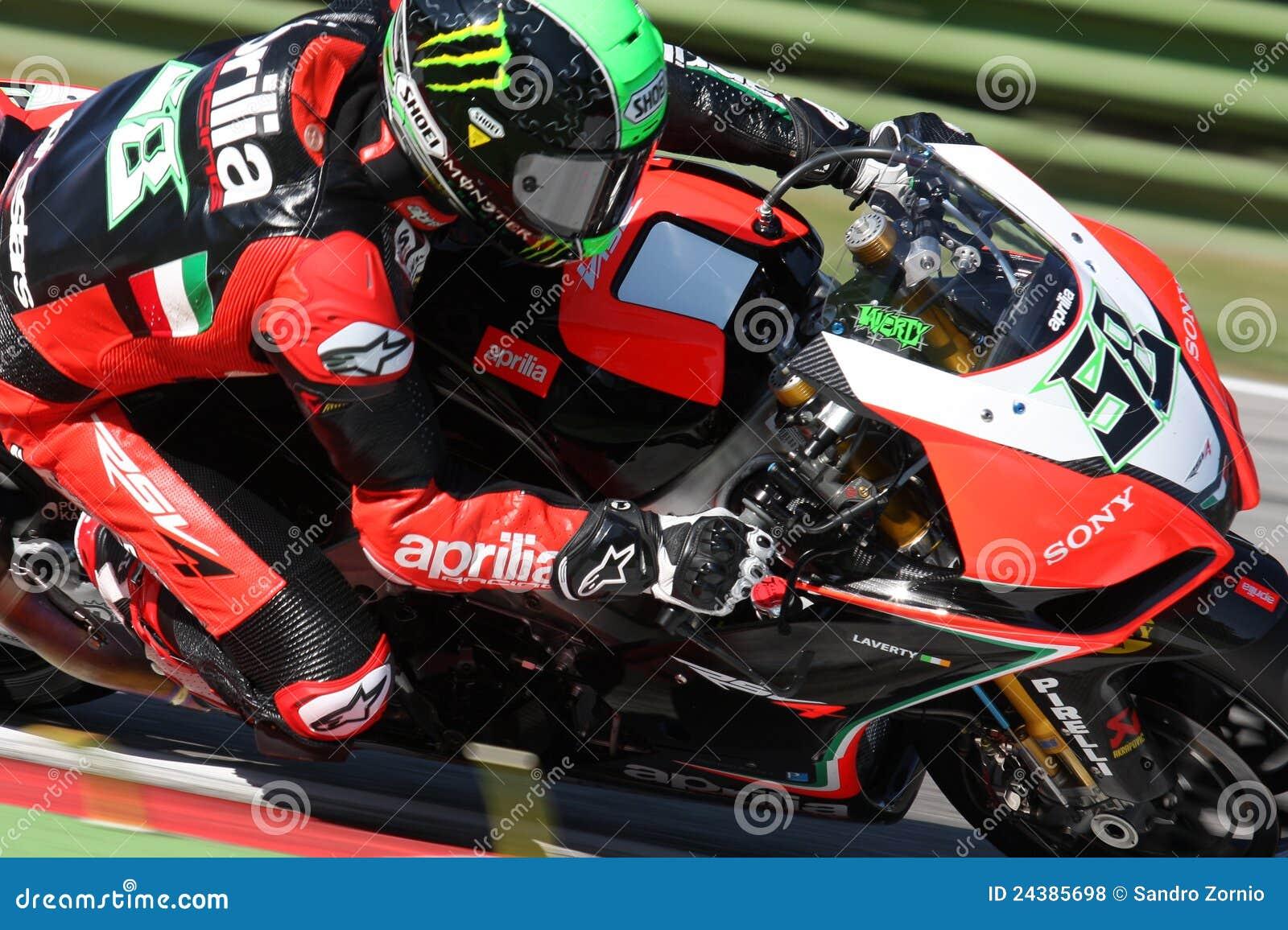Eugene Laverty Aprilia RSV4 Aprilia Racing Team
