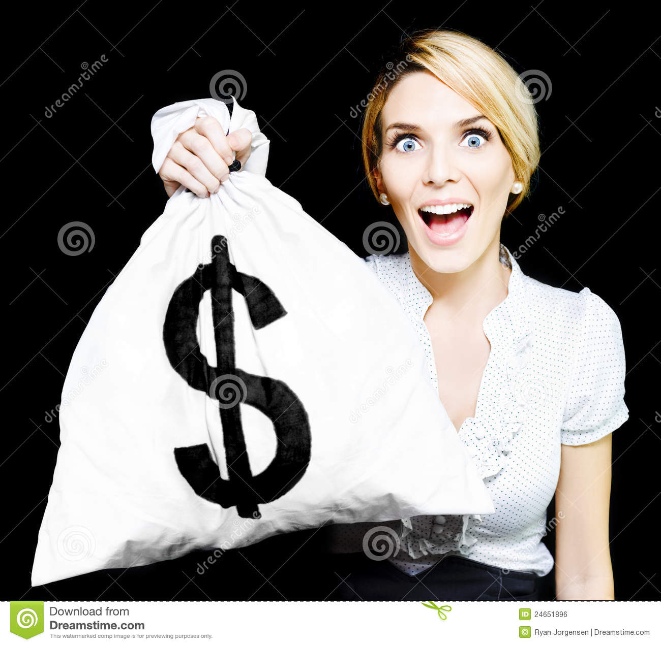 Free money to start a business woman