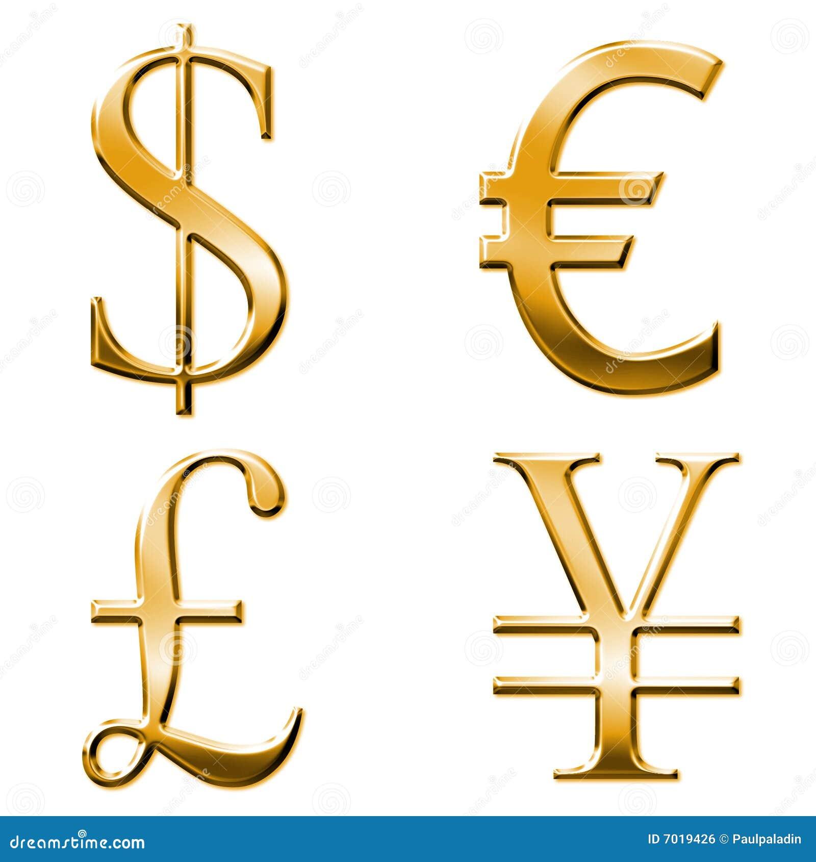 Eur dollar yen pound symbols stock illustration illustration eur dollar yen pound symbols royalty free stock image biocorpaavc Gallery
