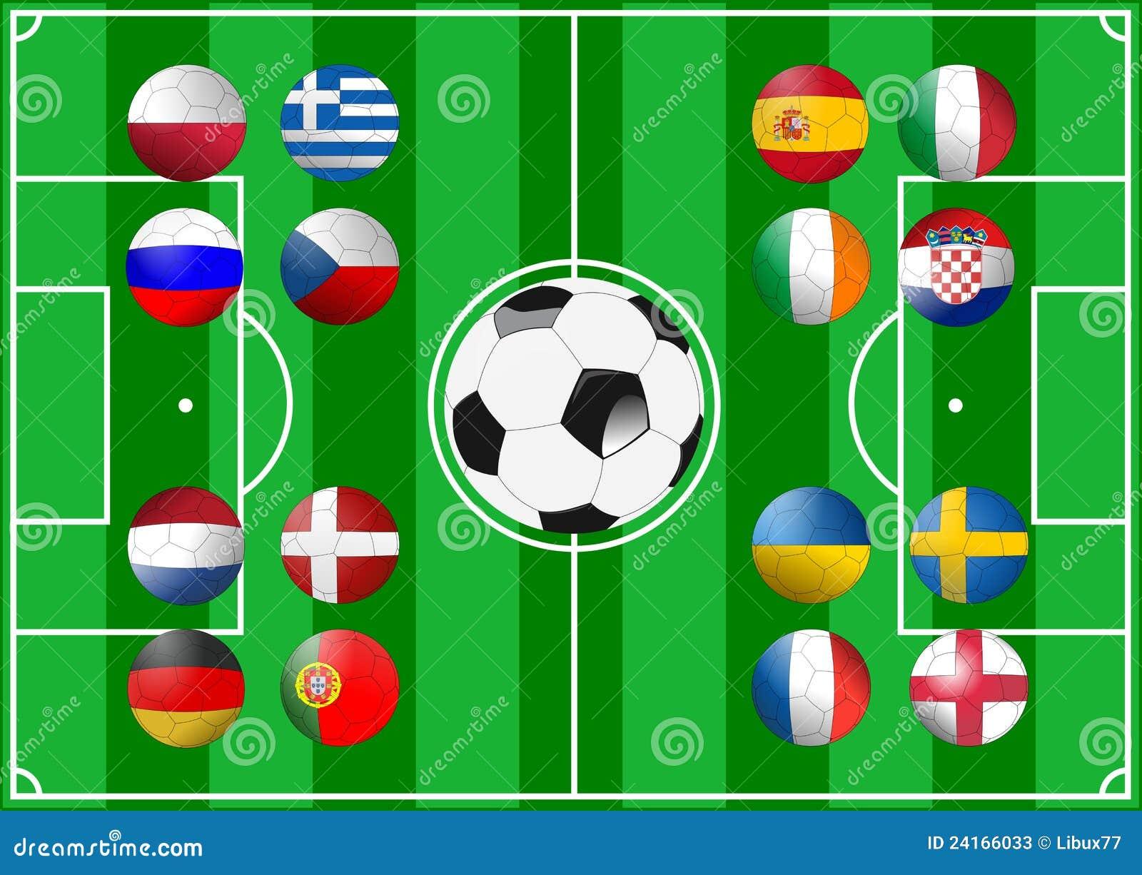 Euro 2012 groups editorial stock photo for Euro 2012 groupe