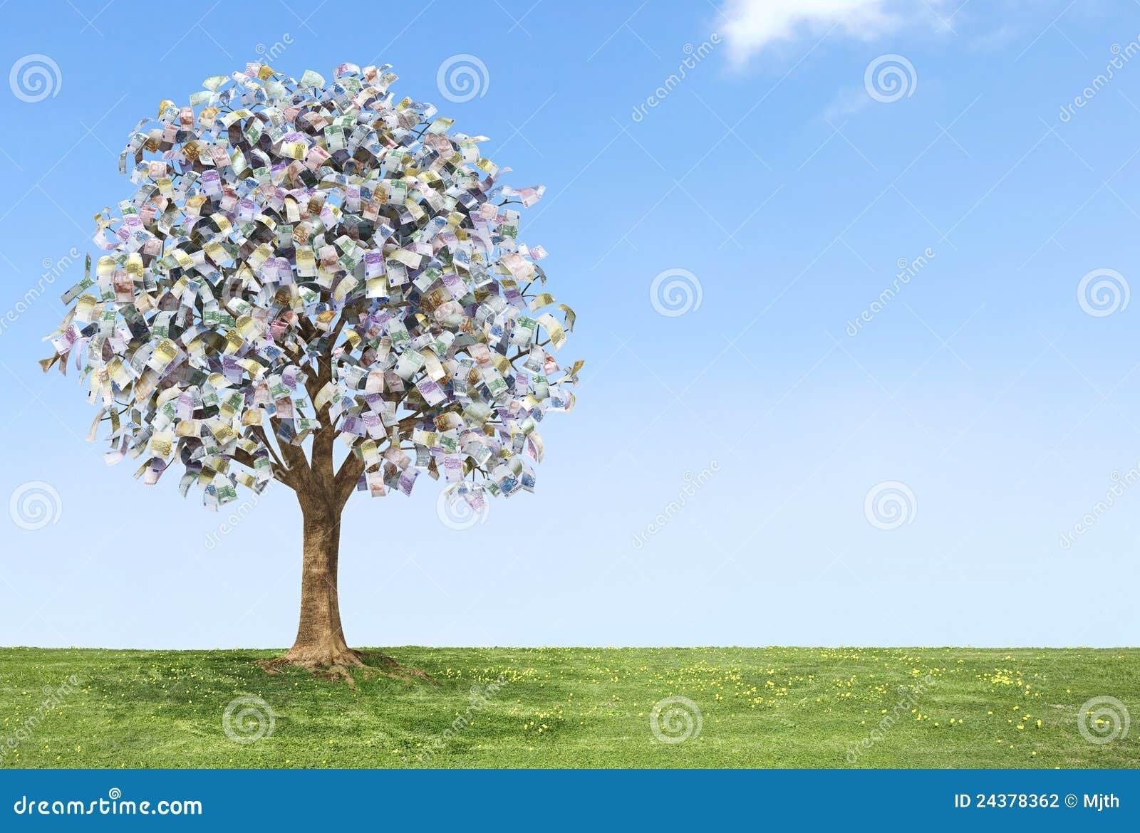 Euro albero dei soldi