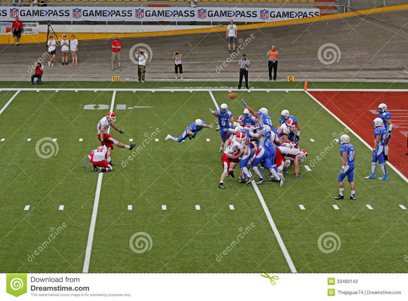 american football in italy