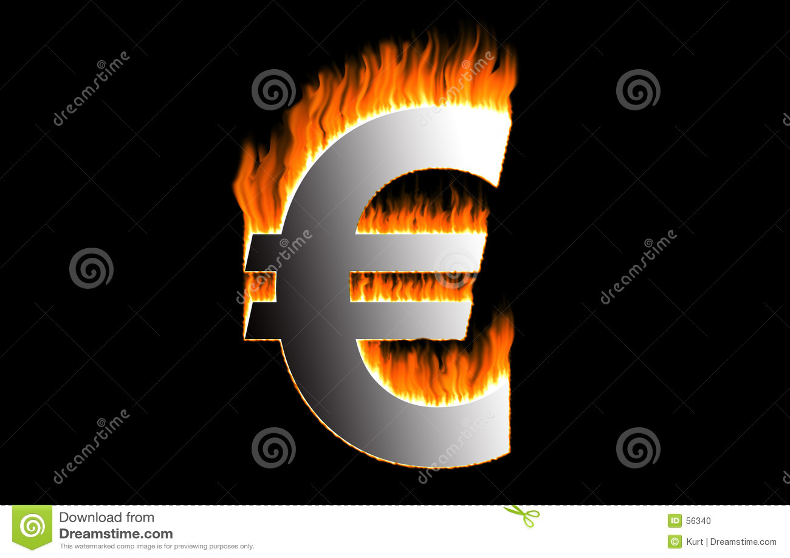 Euro ardente