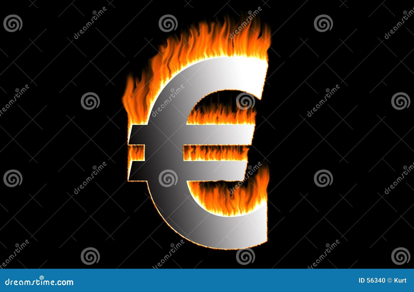 Euro ardiente