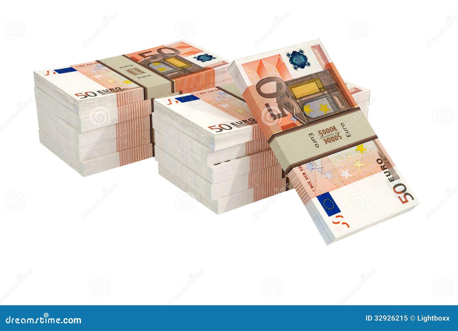 50 Euro Banconote Fotografia Stock Libera da Diritti - Immagine ...