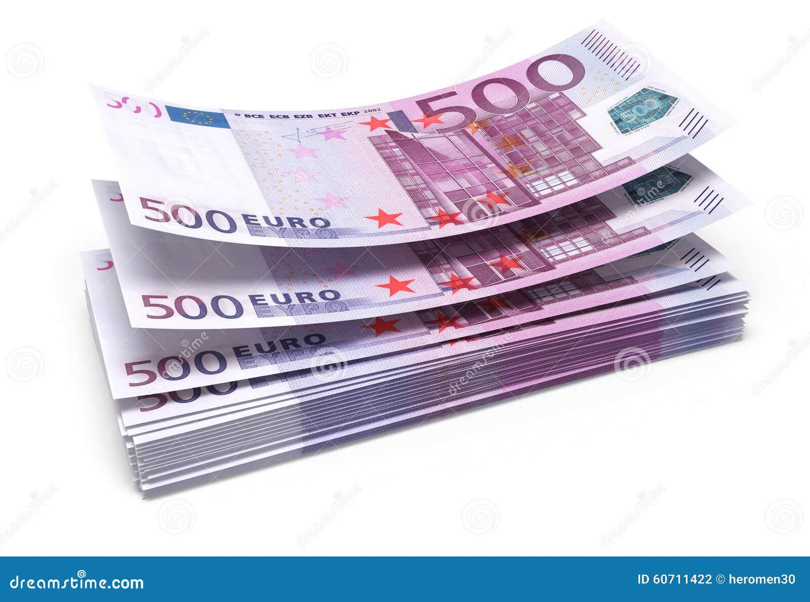 500 euro bankbiljetten