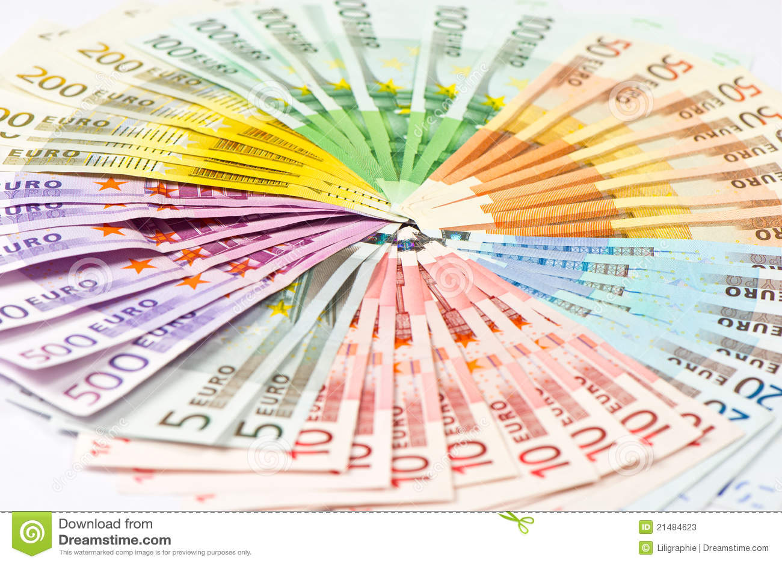 Citaten Geld Xi : Euro bankbiljetten geld achtergrond stock afbeelding