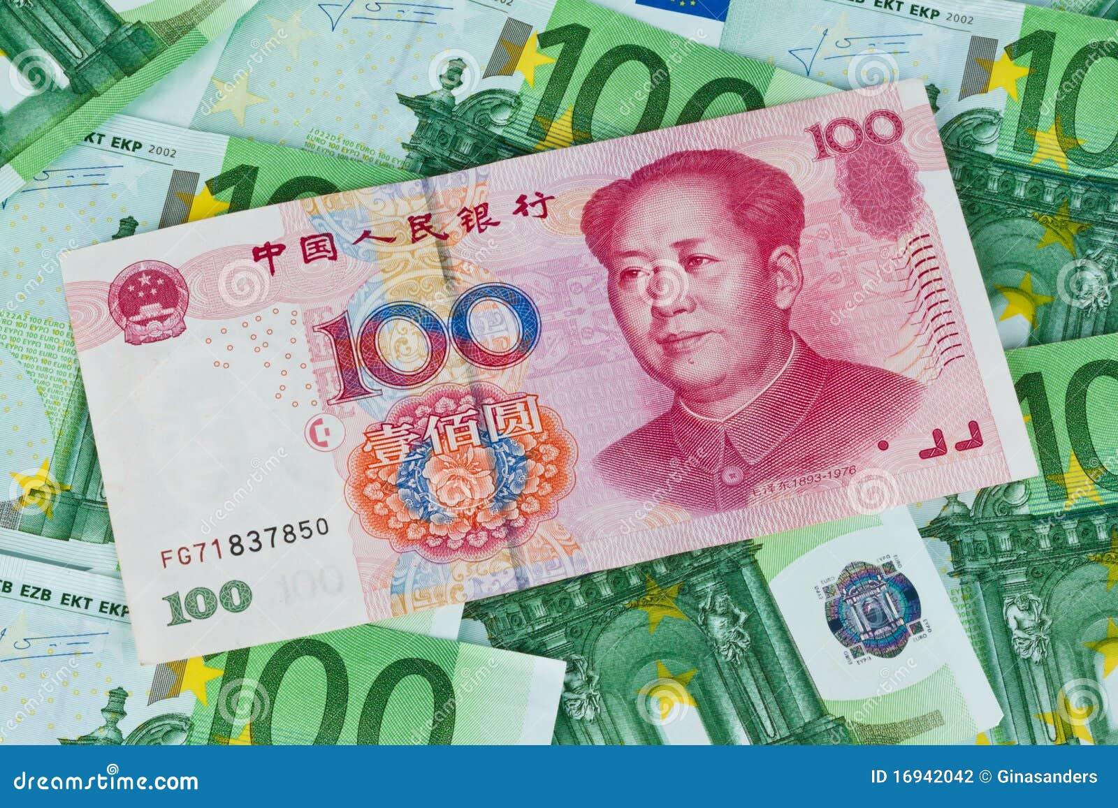 1 yuan in euro