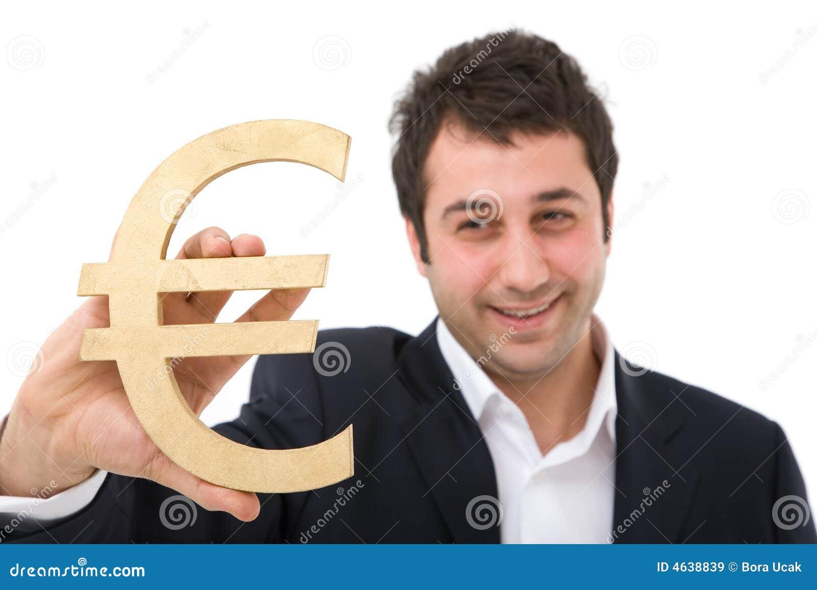 Euro biznesmena