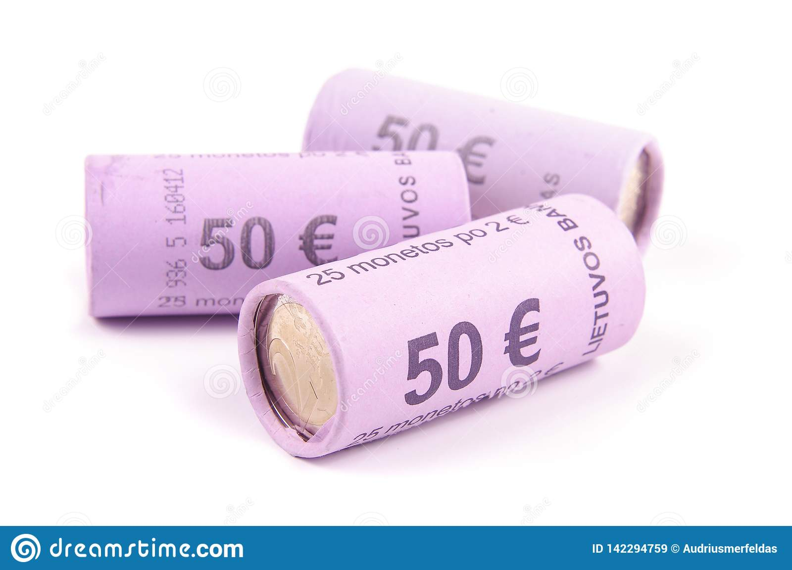 euro coin wrappers