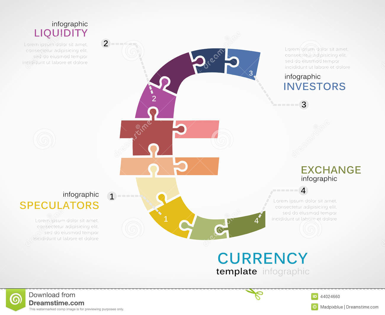 Euro currency stock vector illustration of liquidity 44024660 euro currency buycottarizona Choice Image