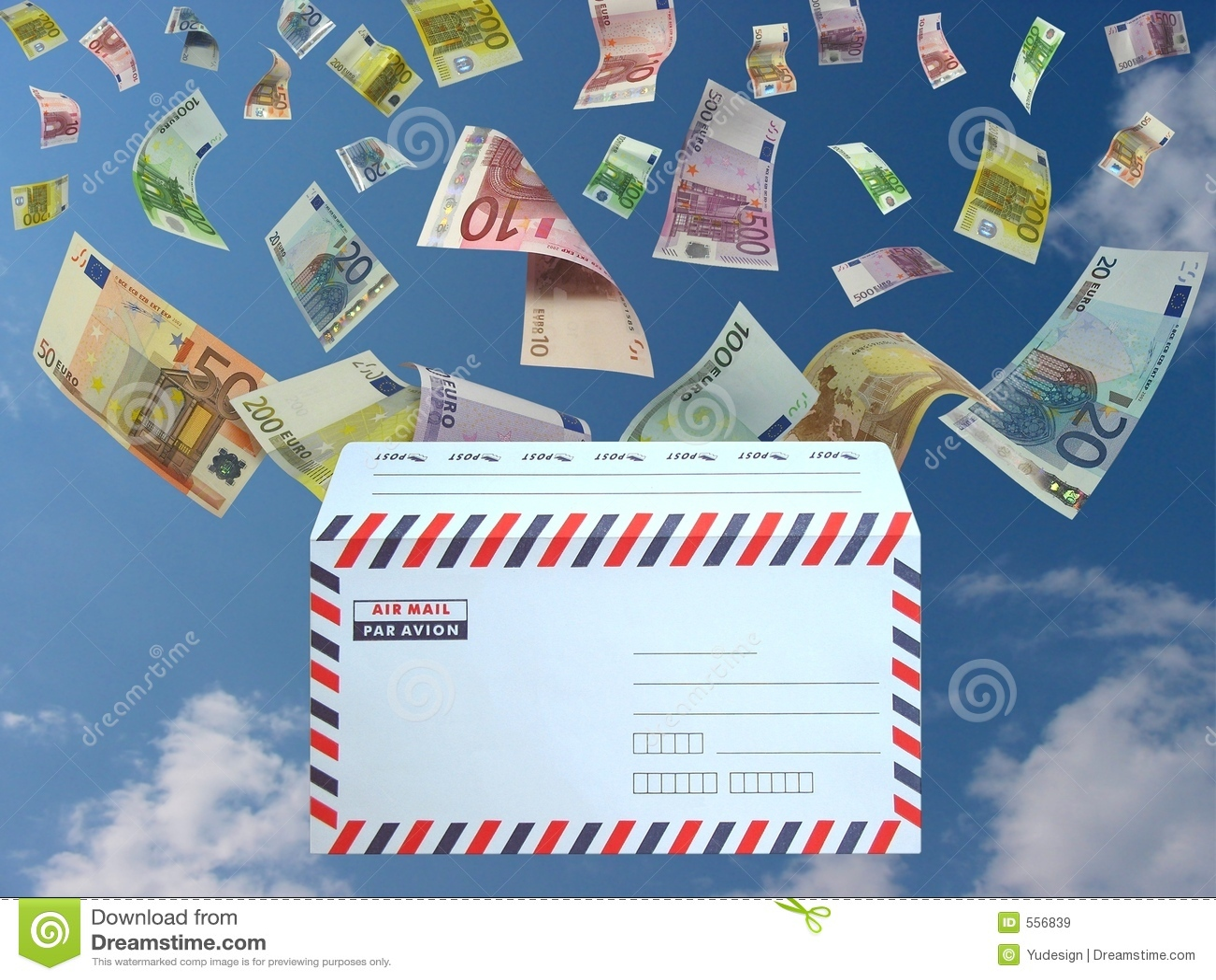 Euro dalla posta