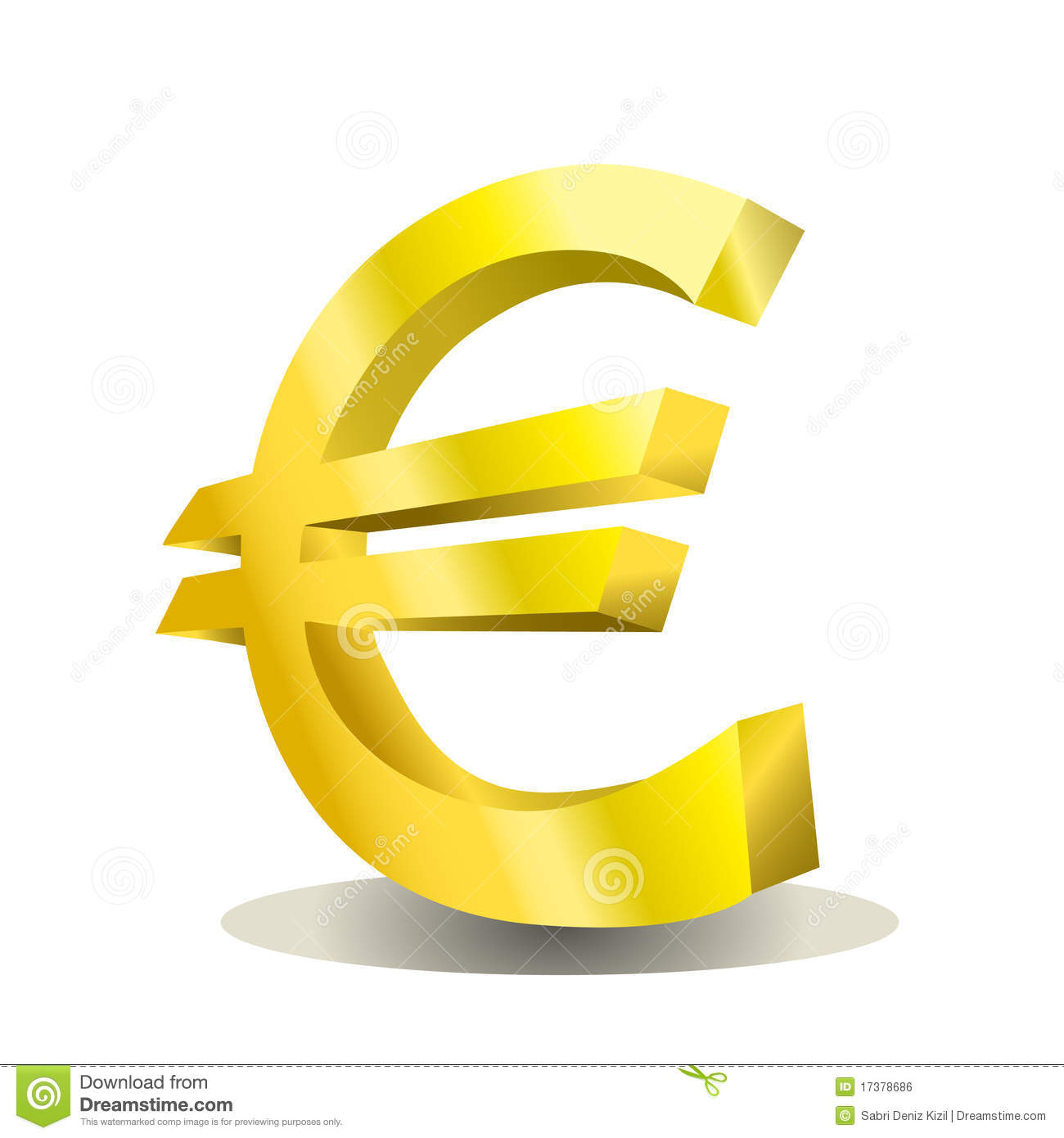 Euro design vector royalty free stock image image 17378686 for Disegno 3d free